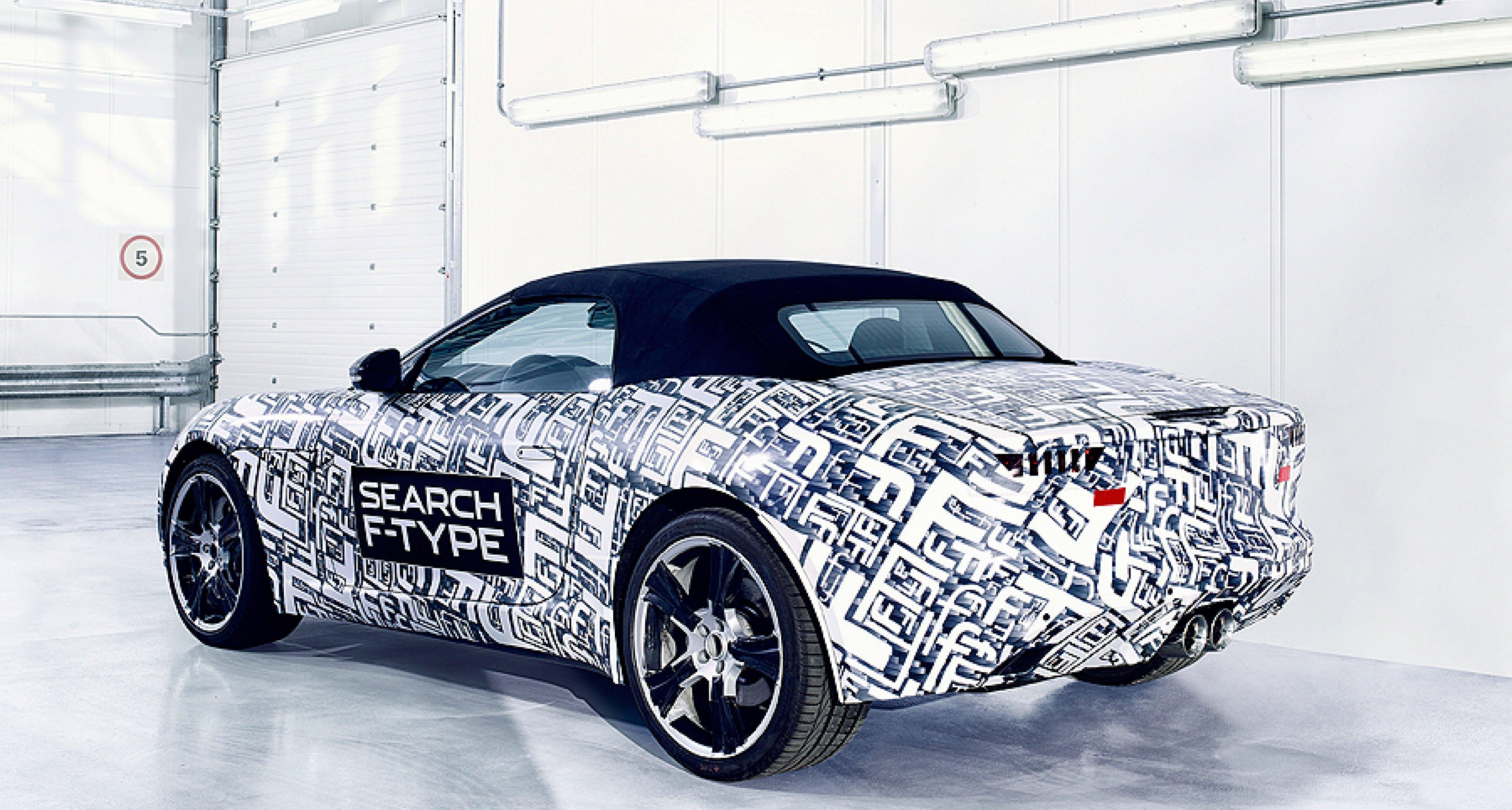 Breaking News: Jaguar F-Type wird gebaut