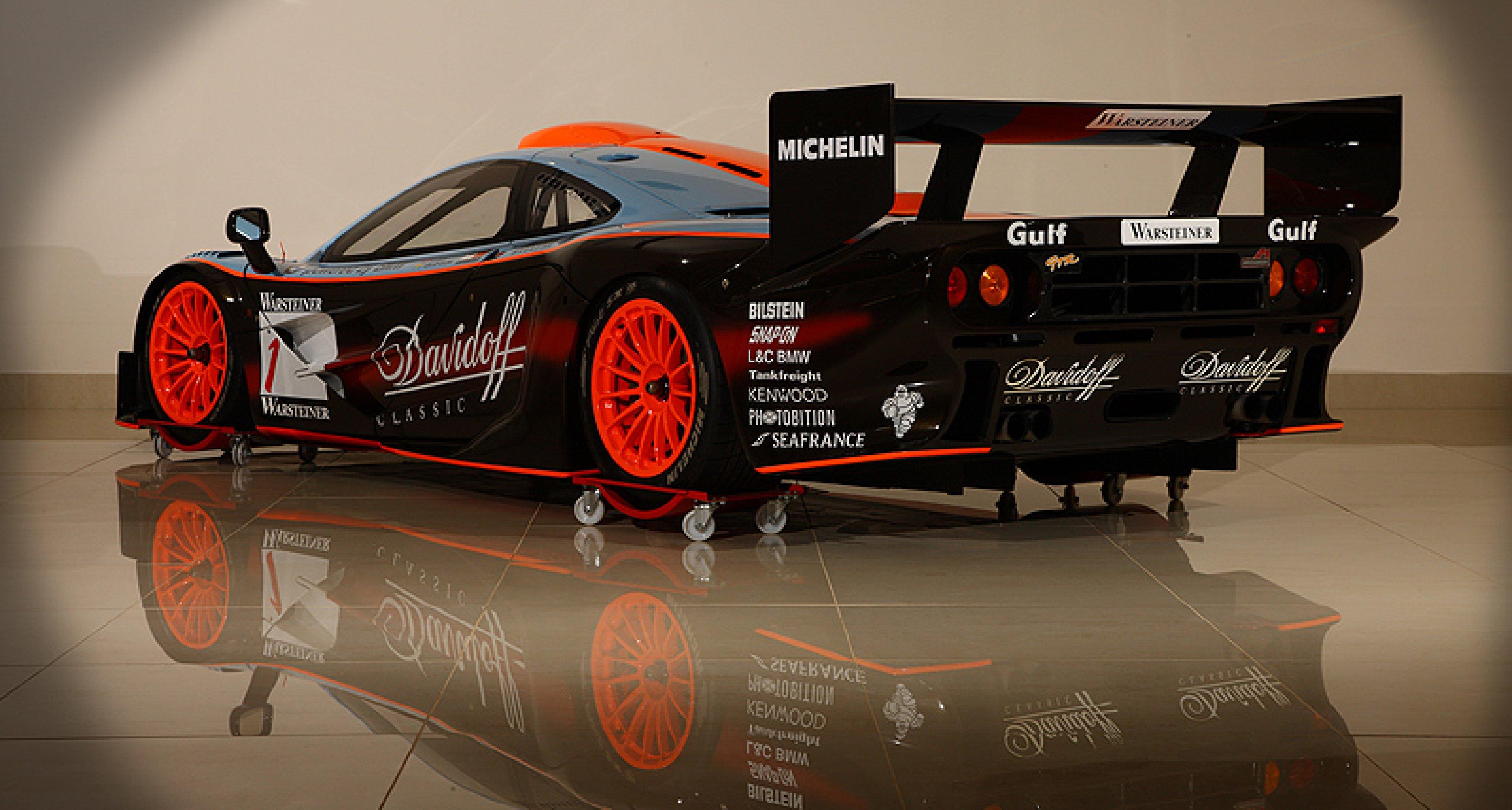 """Bonhams versteigert Gulf McLaren F1 GTR """"Longtail"""""""