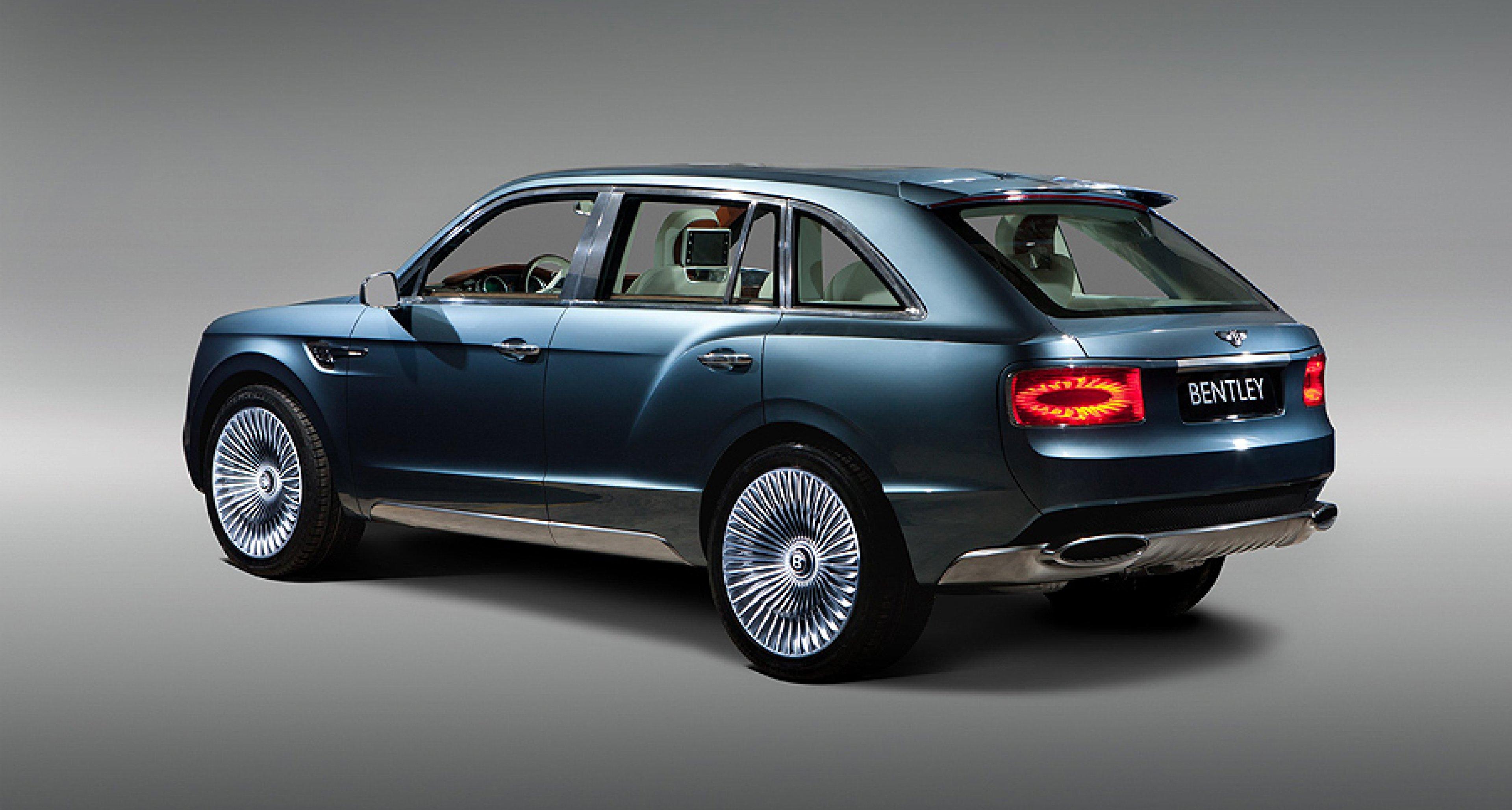Bentley EXP 9 F kommt mit Motoren von V6-Hybrid bis W12