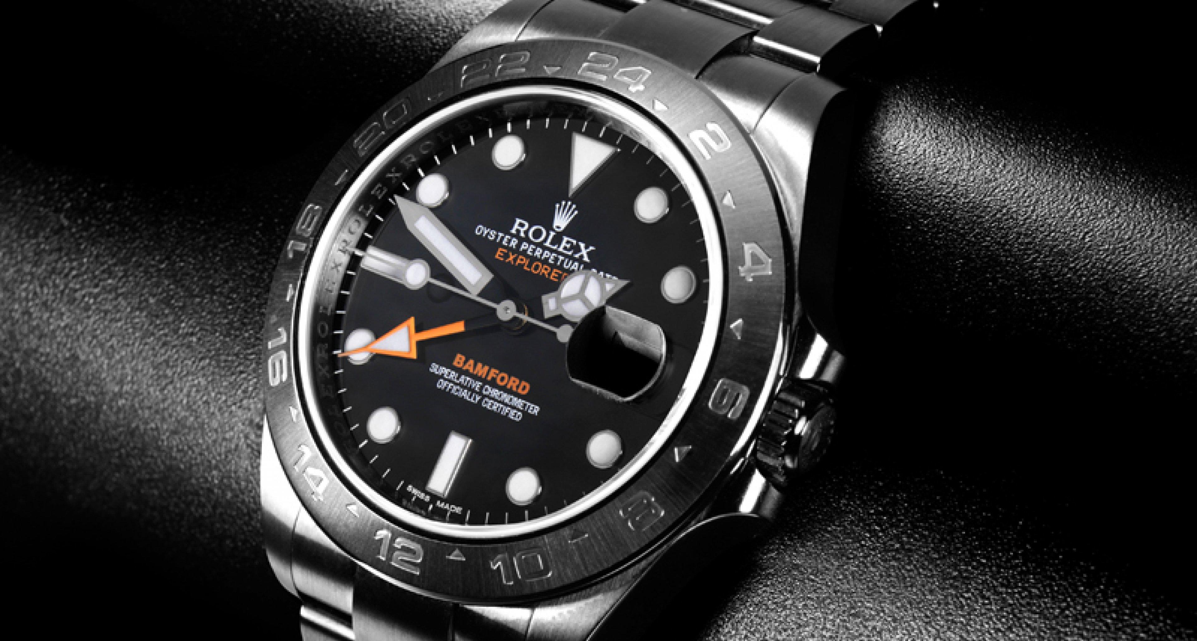 Fünf Fragen an: George Bamford, Uhrendesigner