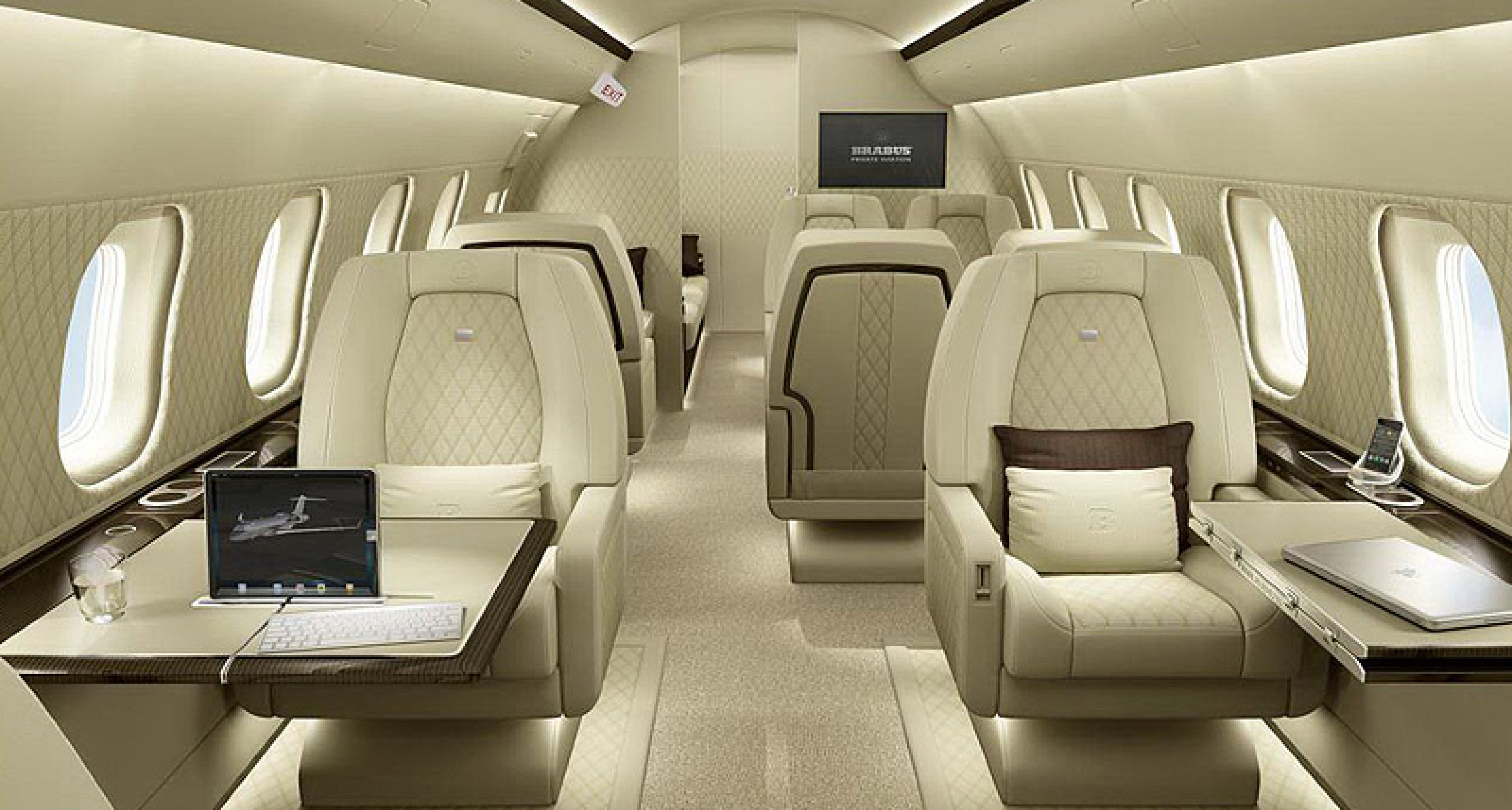 Brabus Private Aviation: Fliegend tiefergelegt