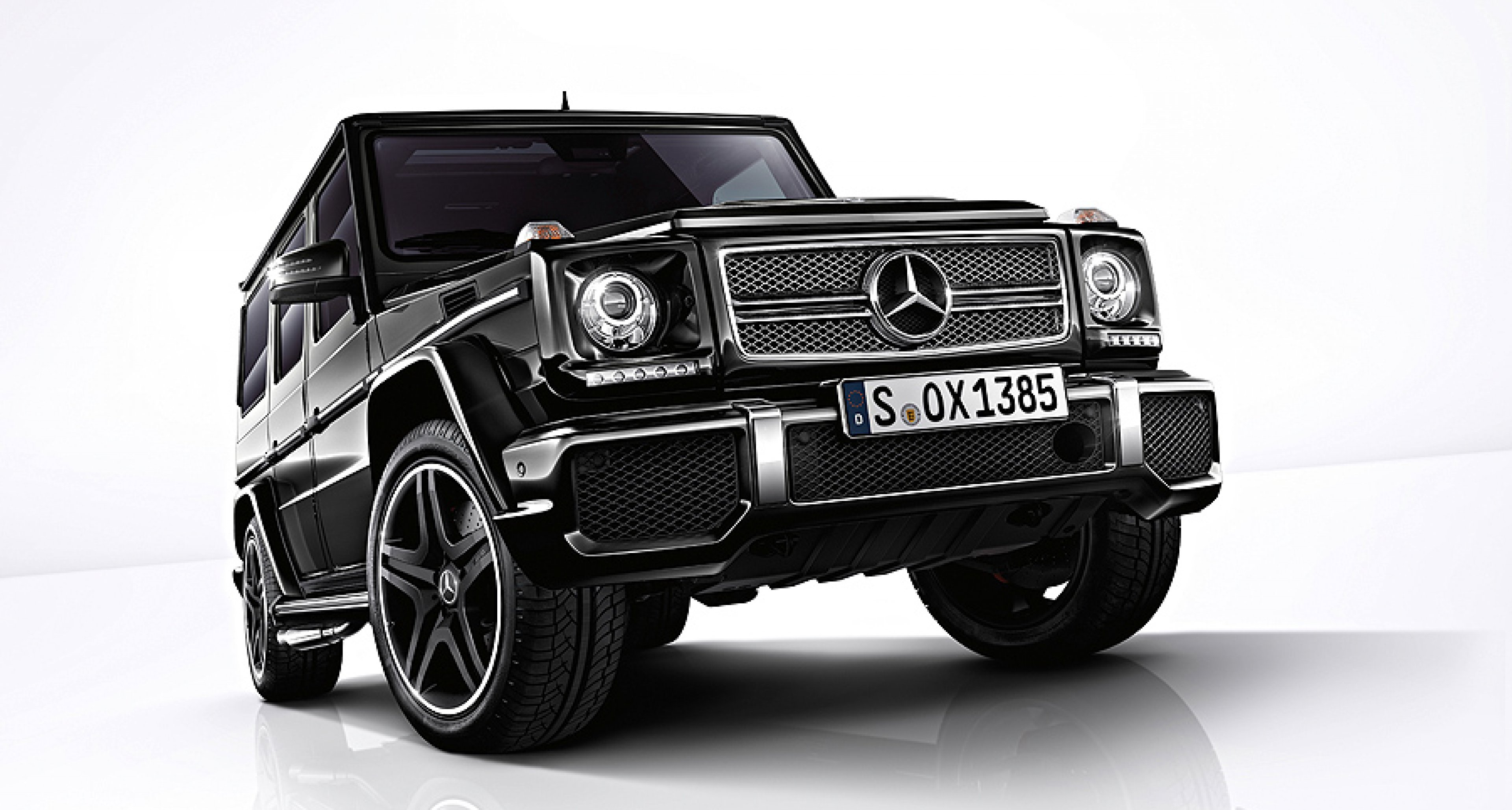 Mercedes-Benz G65 AMG: Stärkster Serien-Offroader der Welt