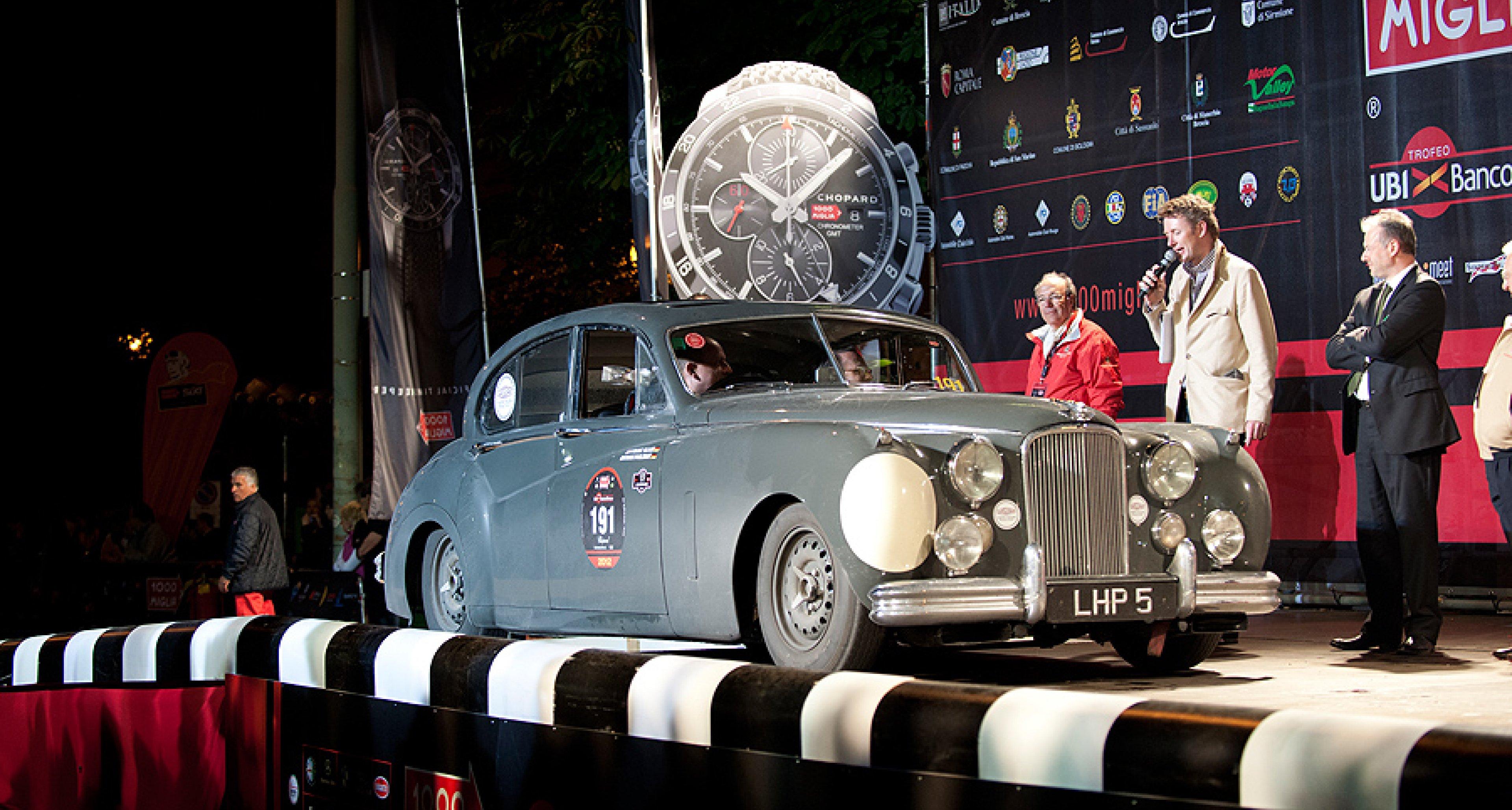 Mille Miglia 2012: Rallye-Notizen aus dem Cockpit
