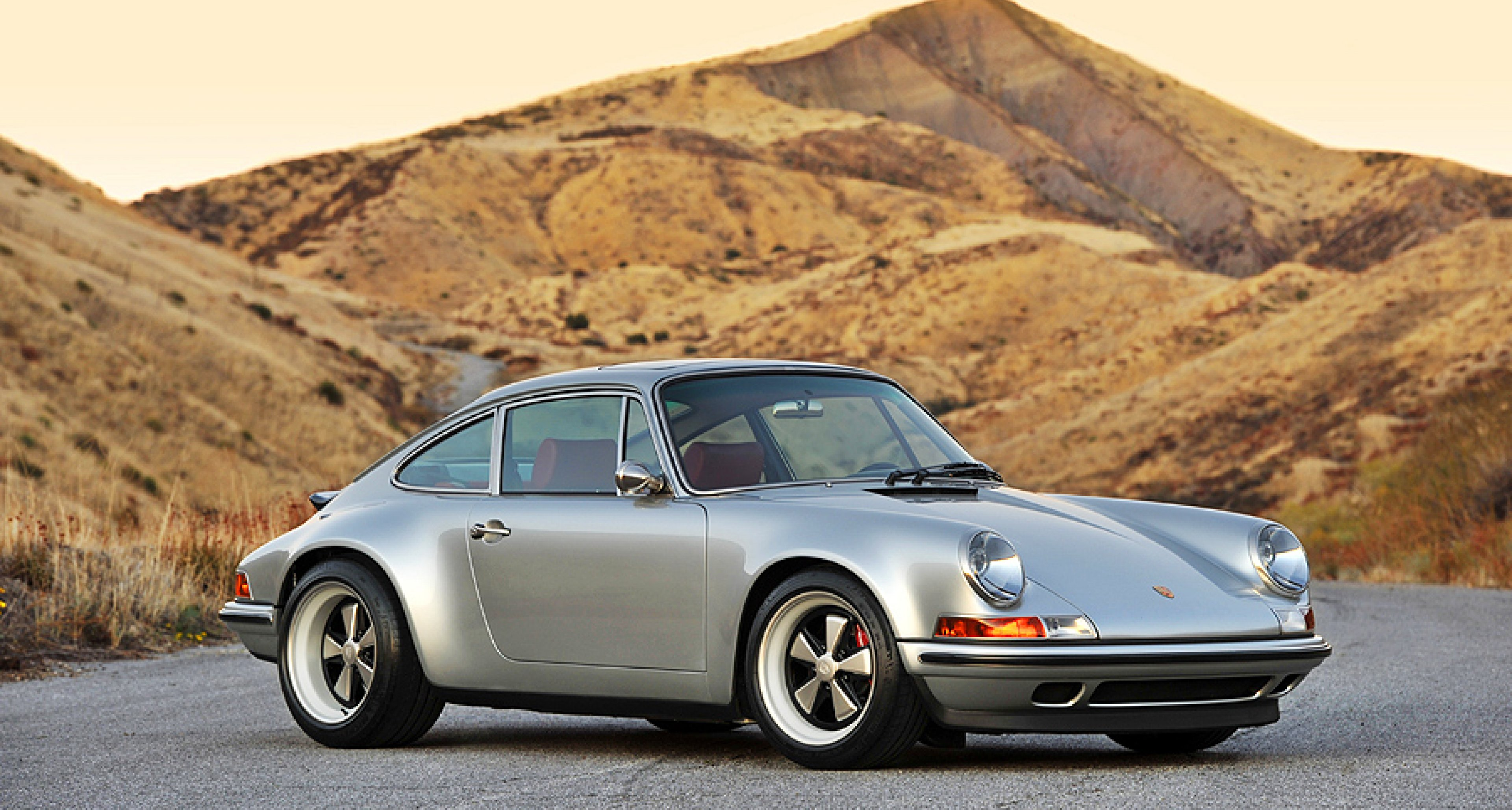 Porsche 911 Re Imagined By Singer Car Number 4 Classic