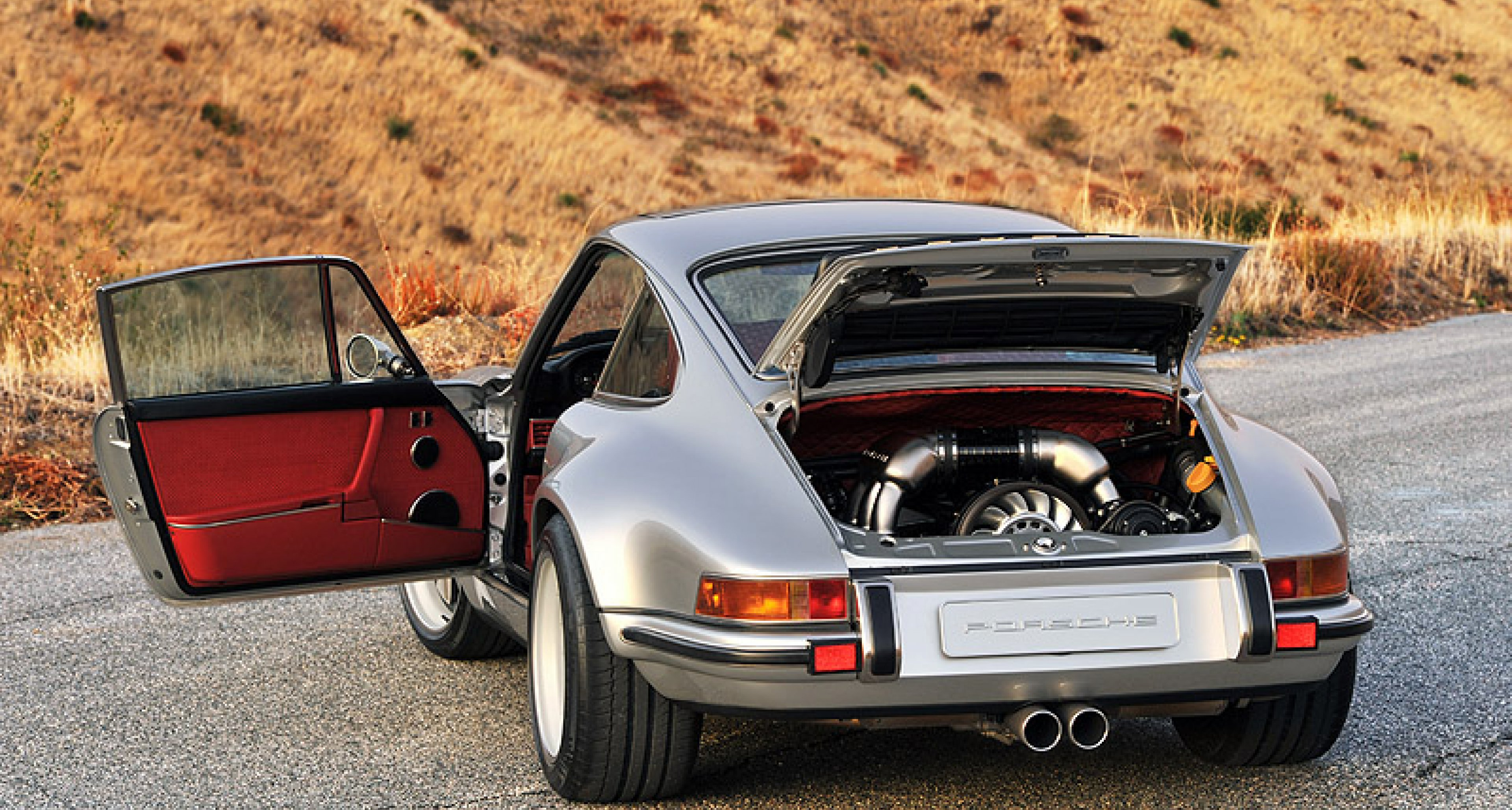 Porsche 911 re,imagined by Singer Car number 4