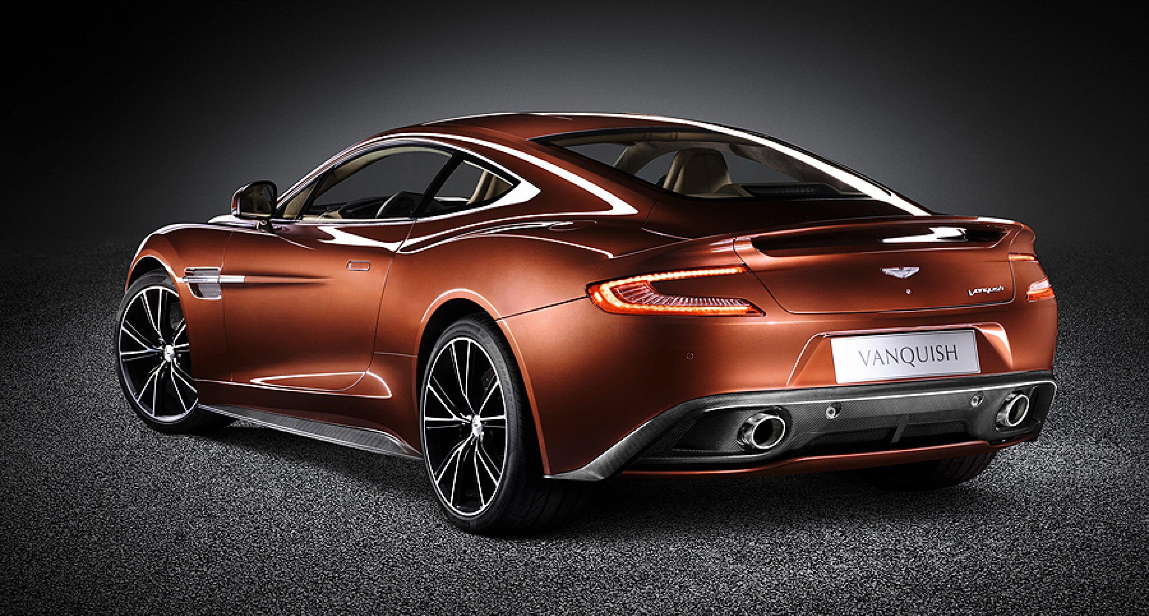 The 2012 Aston Martin Vanquish Classic Driver Magazine