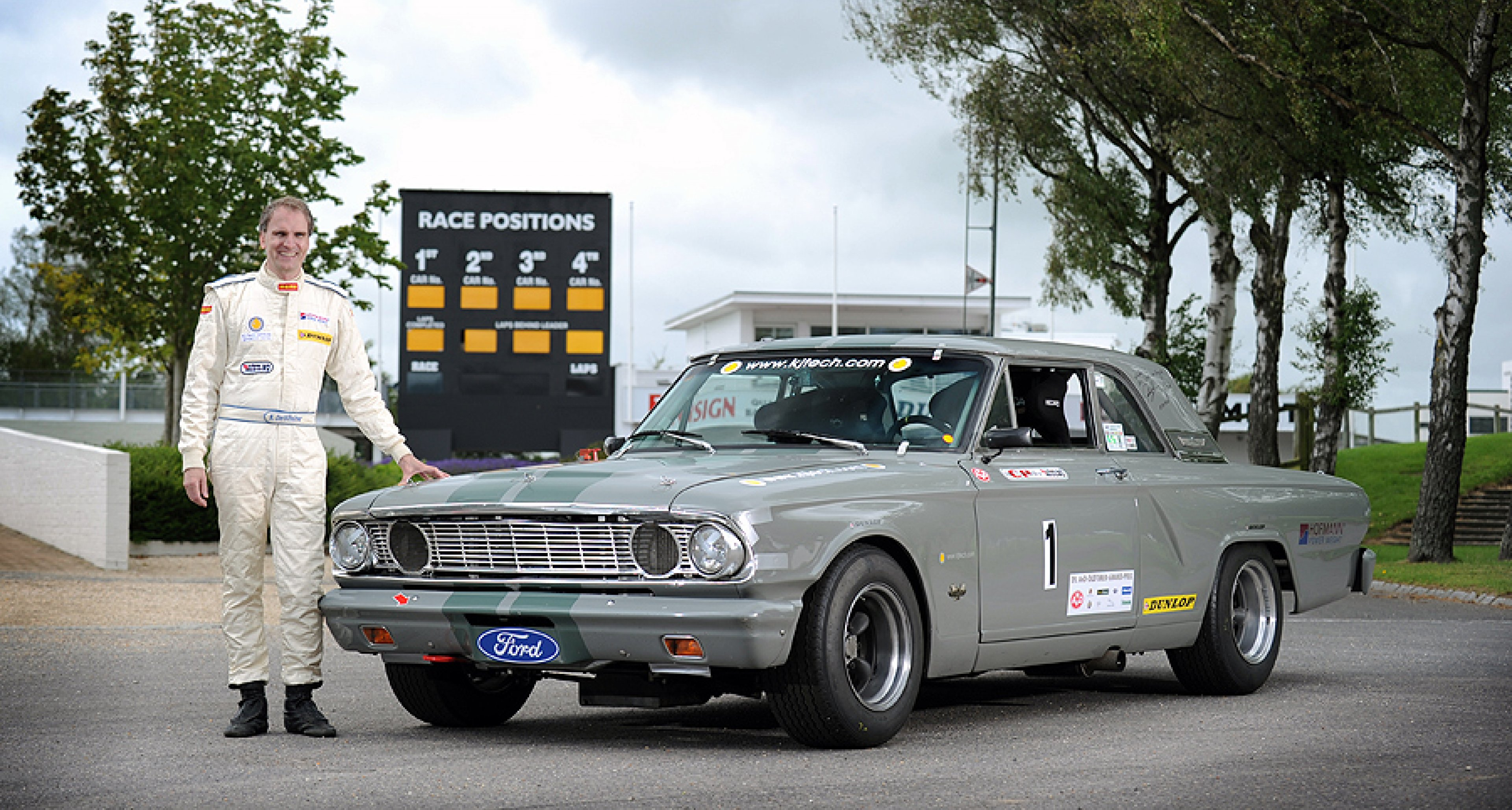 Holman Moody 1964 Ford Fairlane 7-litre at Goodwood   Classic Driver