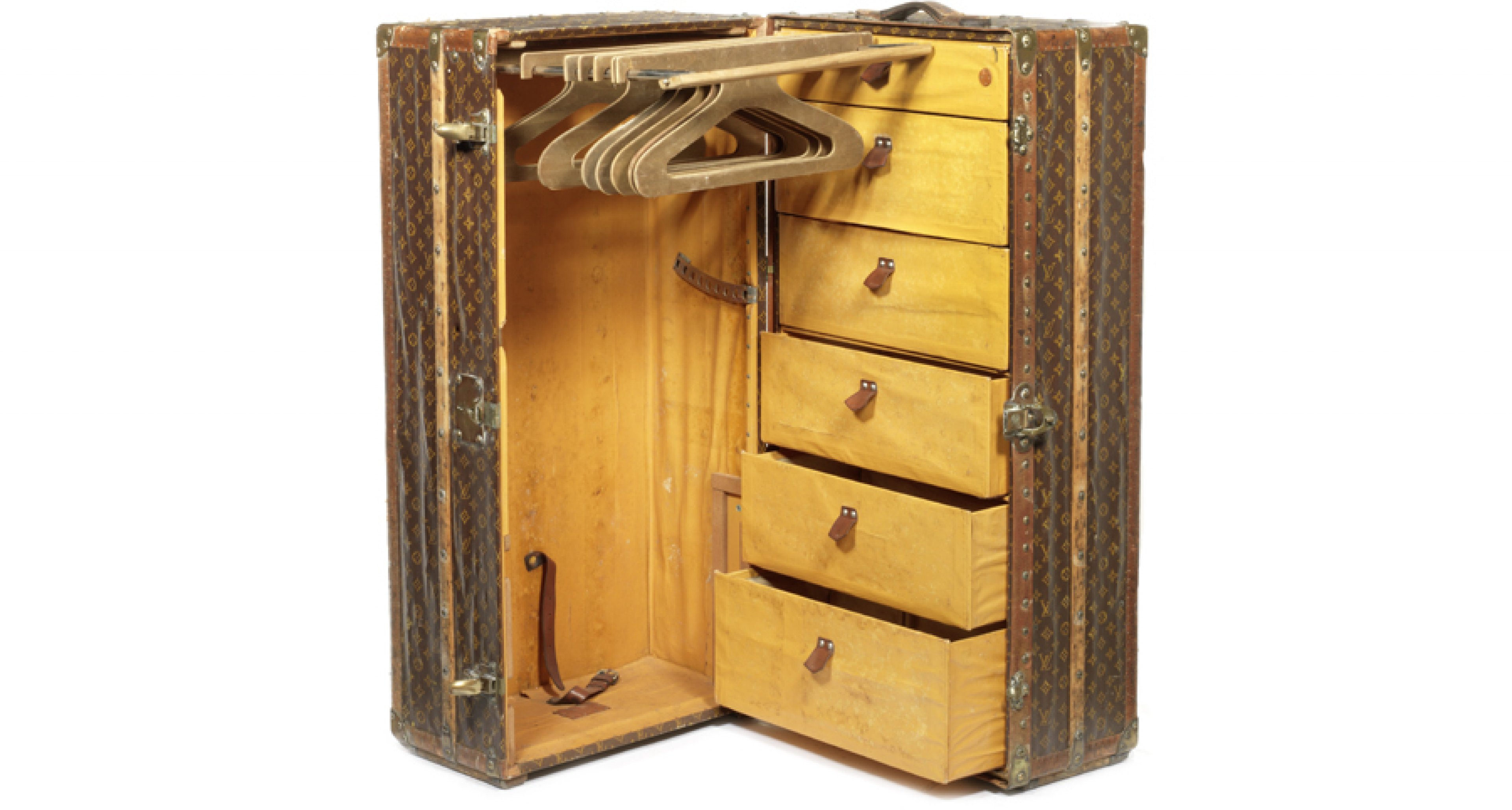 Special Delivery: Louis Vuitton Wardrobe Trunk Hits The Auction Block |  Classic Driver Magazine