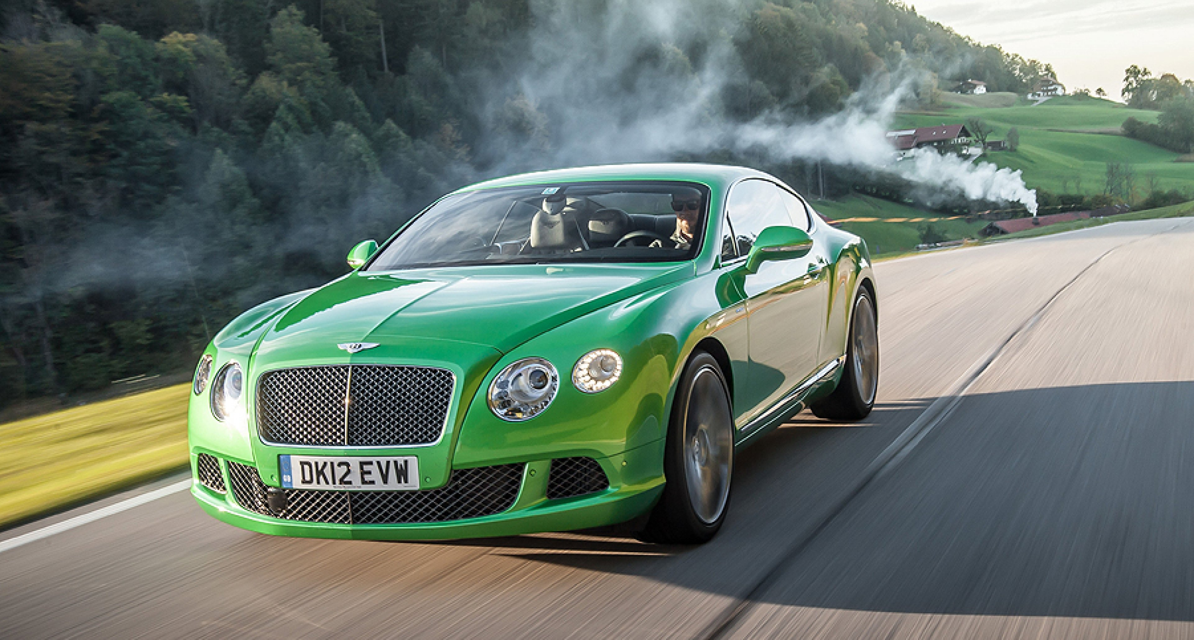 Bentley Continental Gt Green >> The New Bentley Continental Gt Speed Green For Even More Go