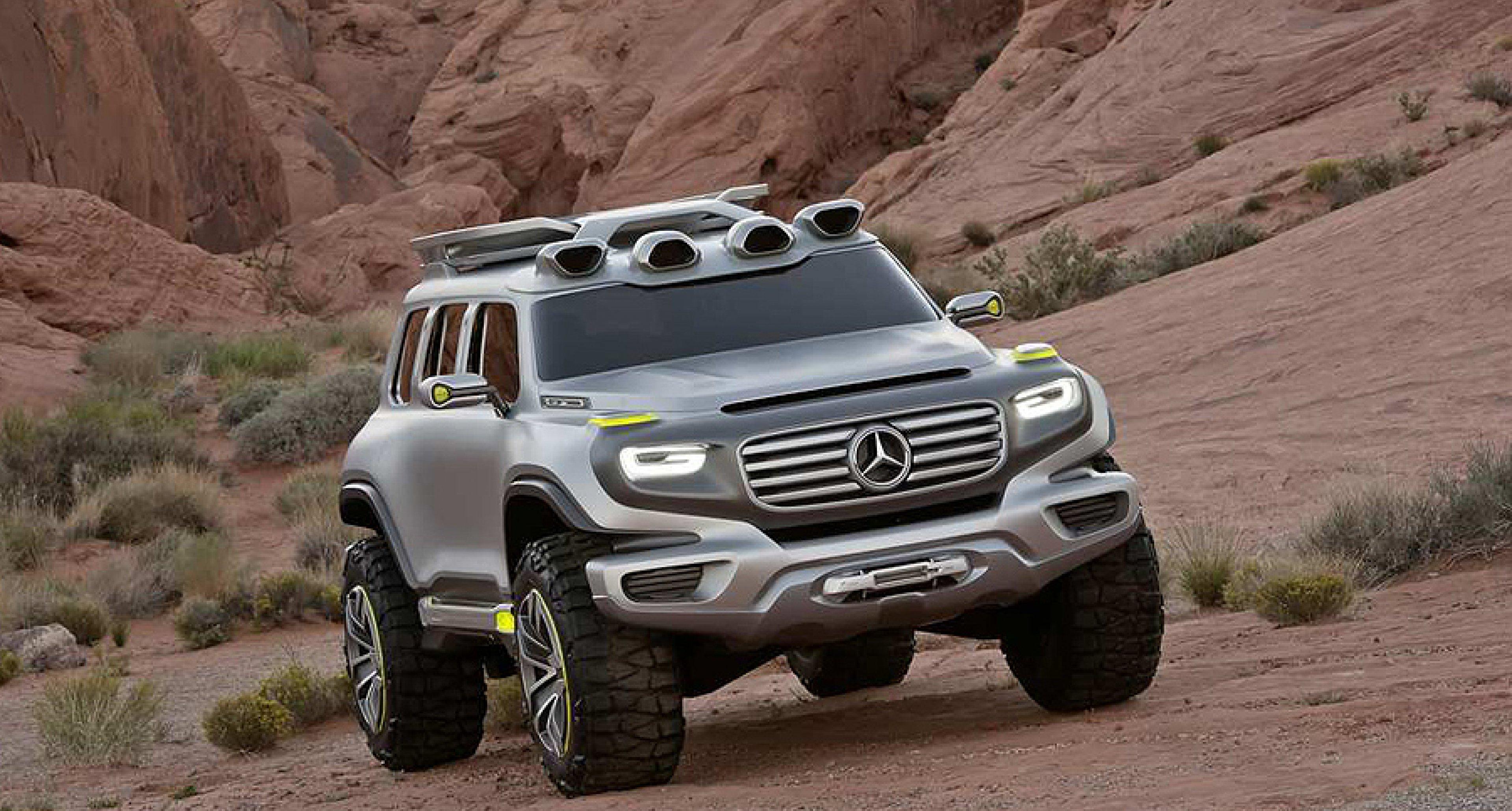 Mercedes benz off road