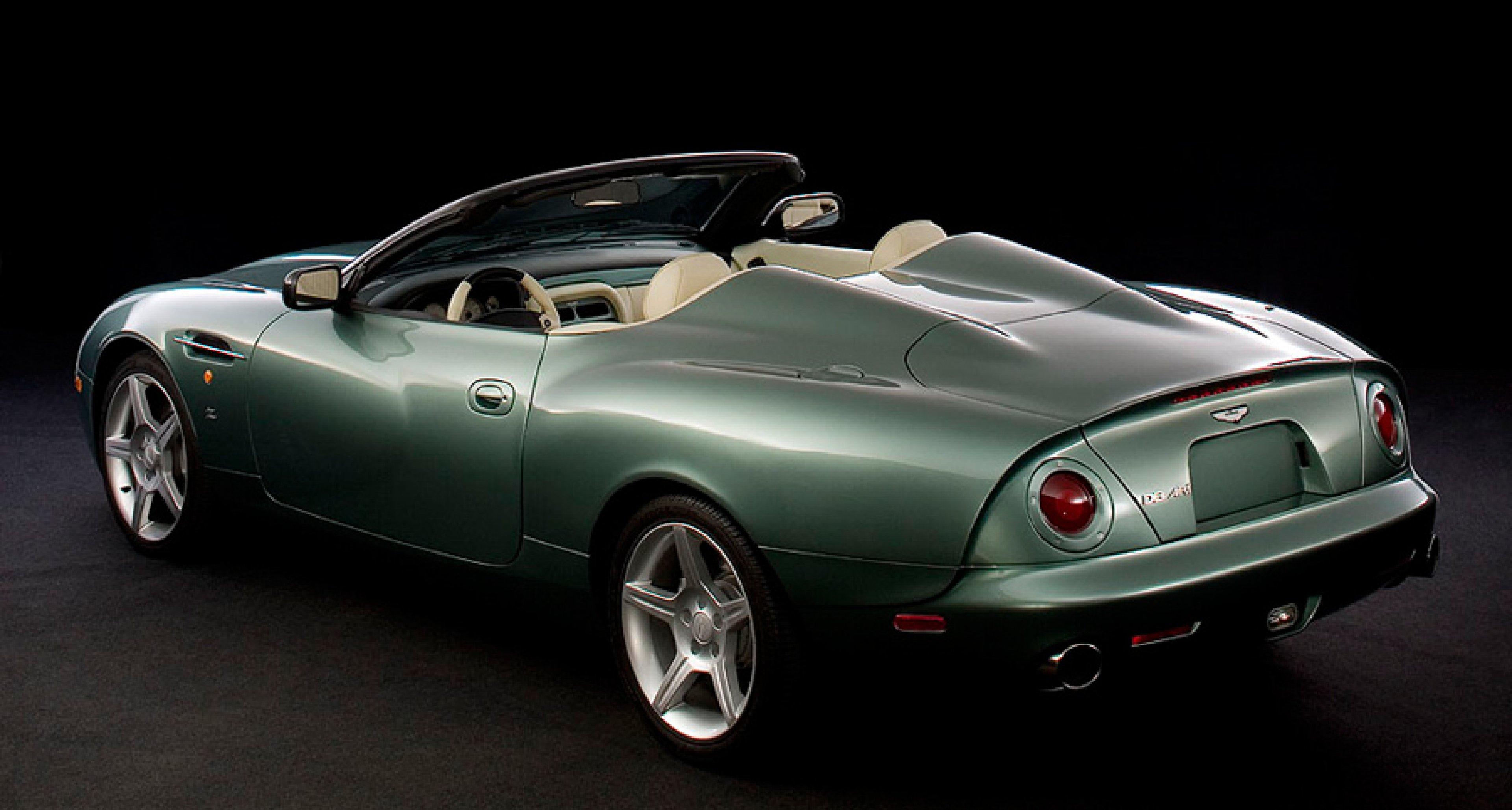 Aston Martin Db Ar1 La Motor Show Car No 1 For California Sr1 Classic Driver Magazine