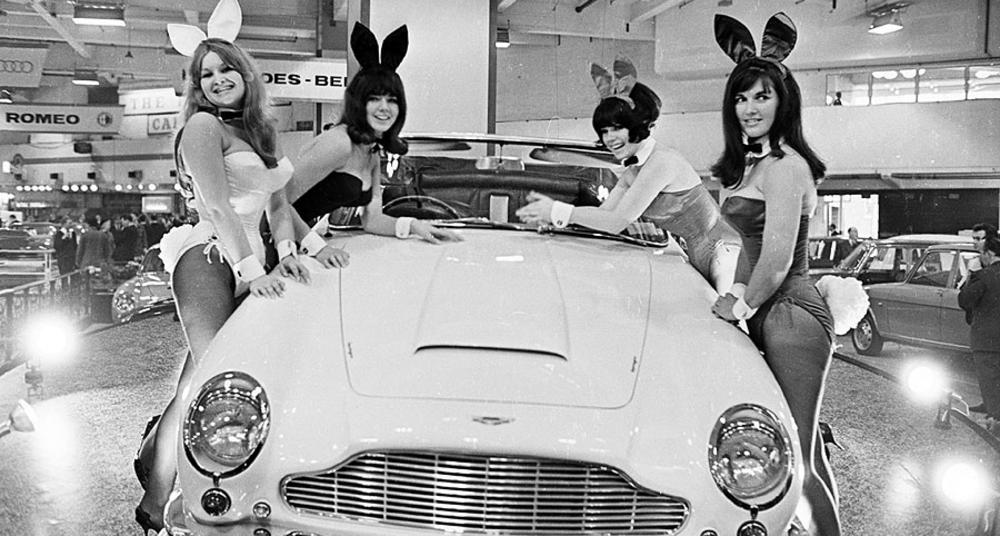 Fair Hostesses Where Would Motor Shows Be Without Them