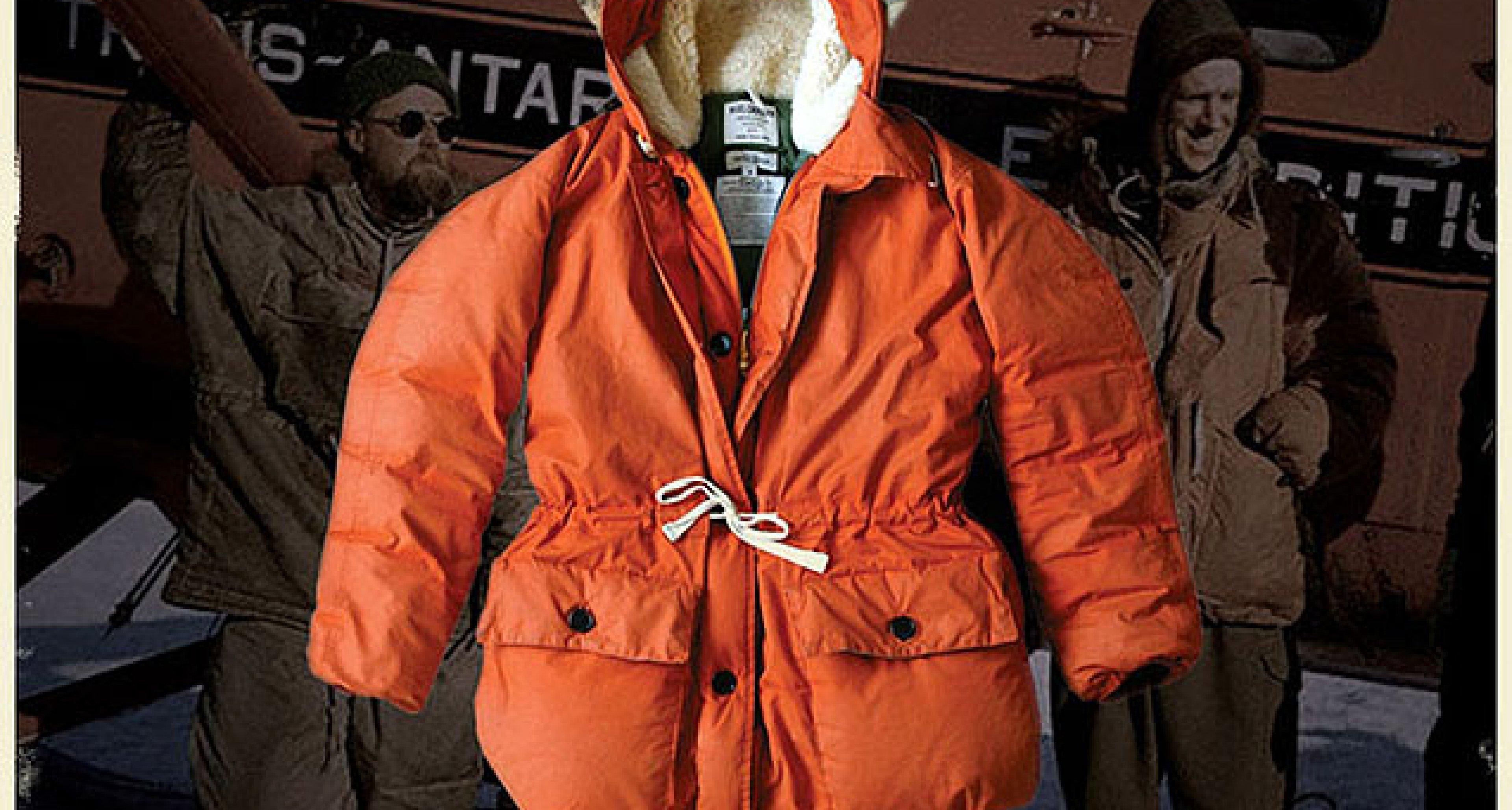 Nigel cabourn orange parka