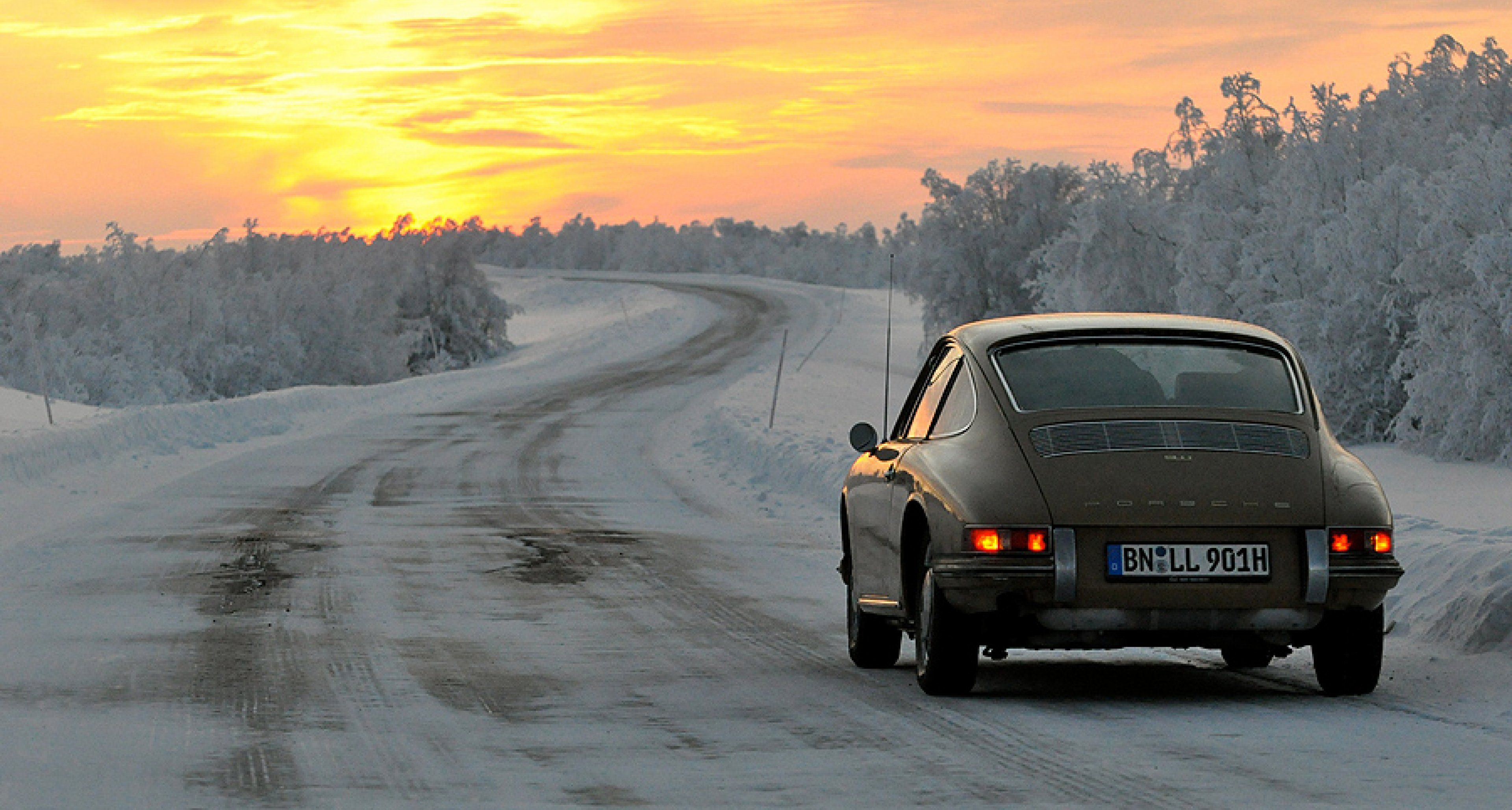 Norways North Cape In A Classic Porsche A True Winter - Vintage porsche dealer
