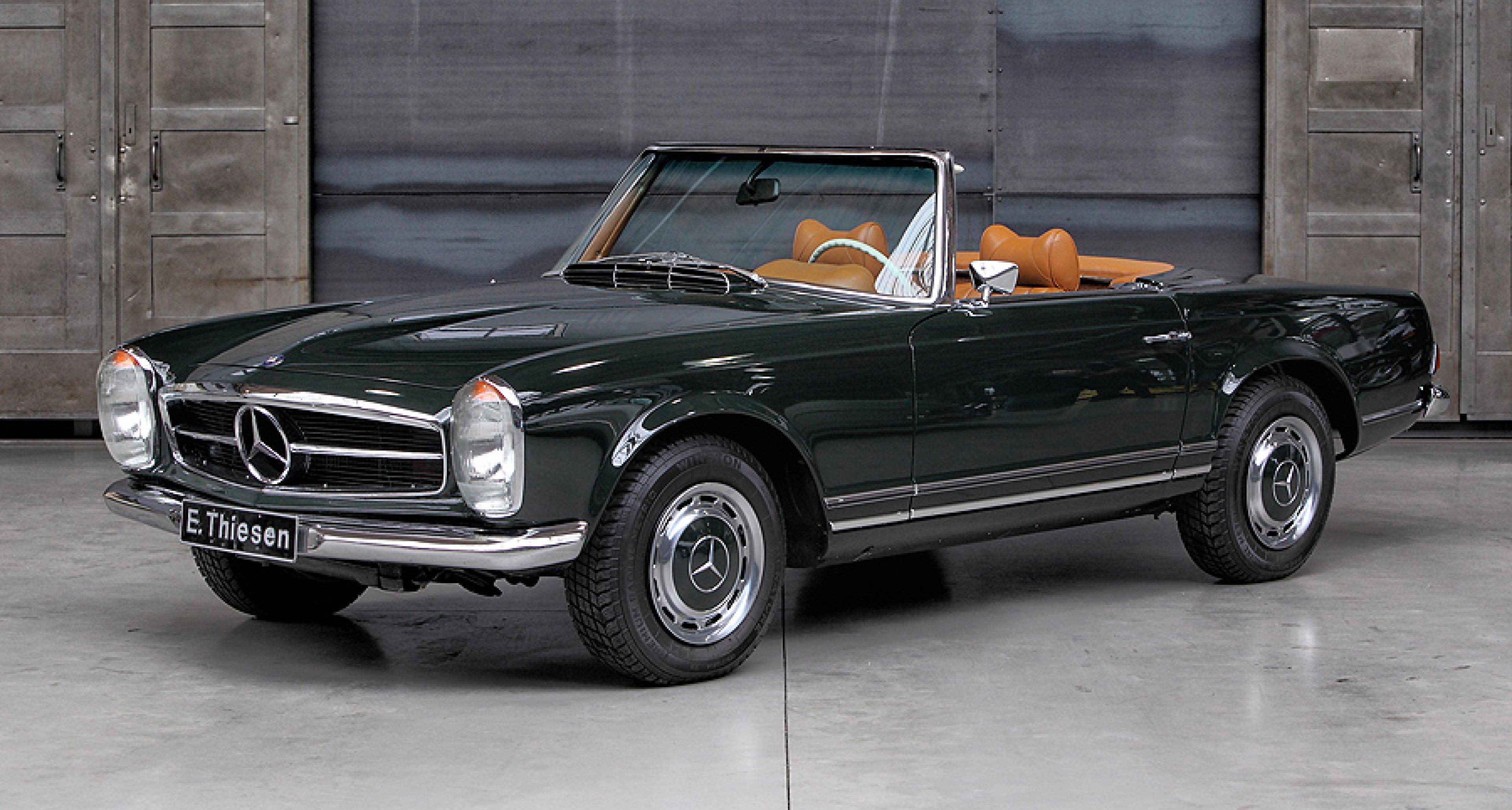 Mercedes benz sl 39 pagoda 39 classic driver magazine for Mercedes benz classic magazine