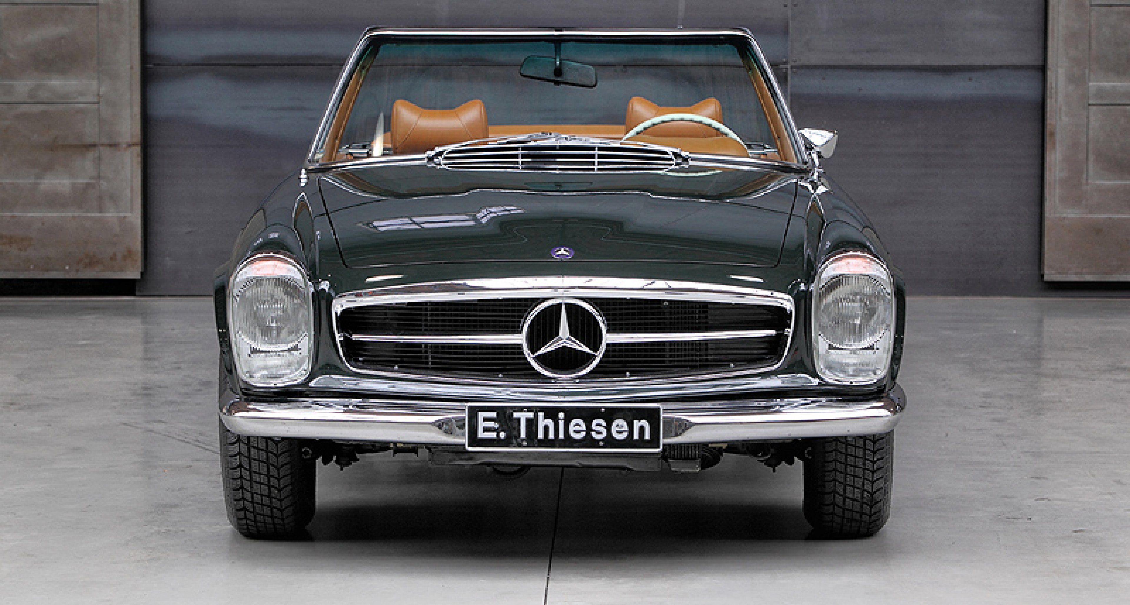 Please excuse the pitstop classic driver for Mercedes benz classic magazine