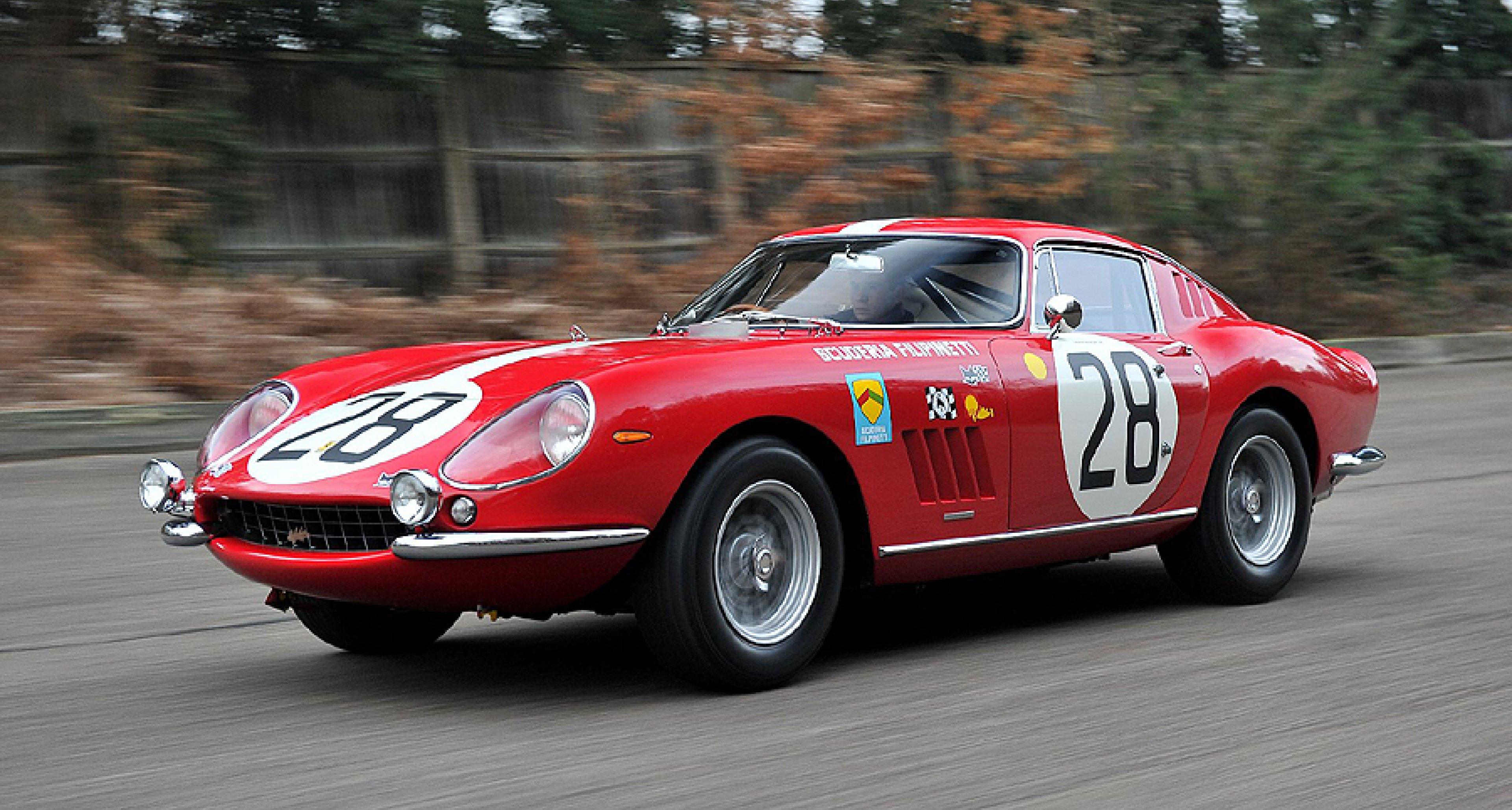 Triple Le Mans Entry 1966 Ferrari 275 Gtb C To Star At Rétromobile 2013 Classic Driver Magazine