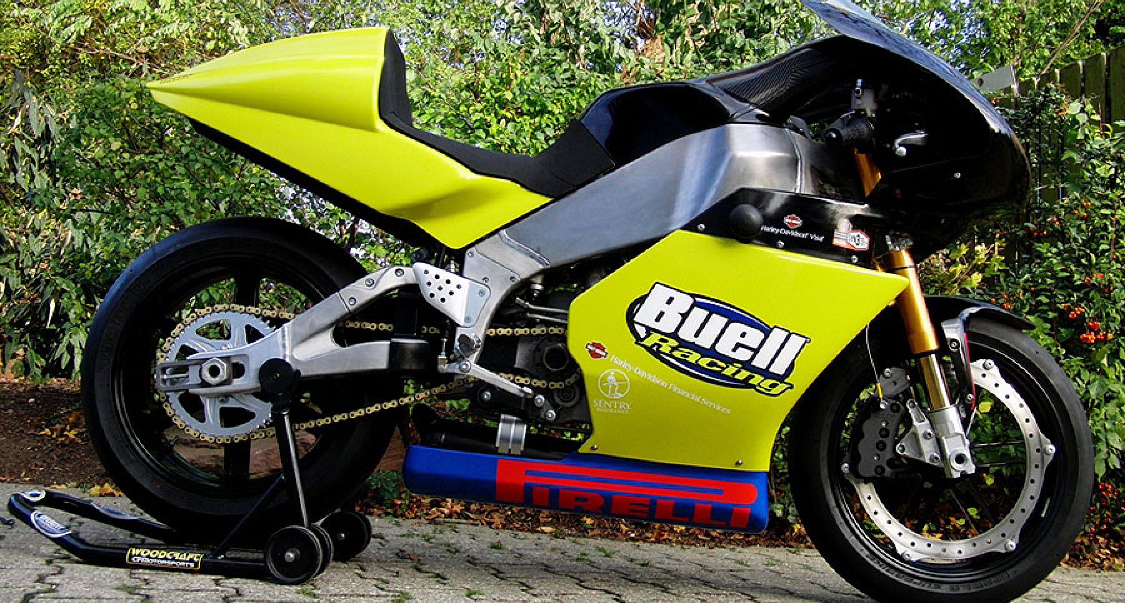 Buell XBRR Factory Racer: Two-wheeled beast