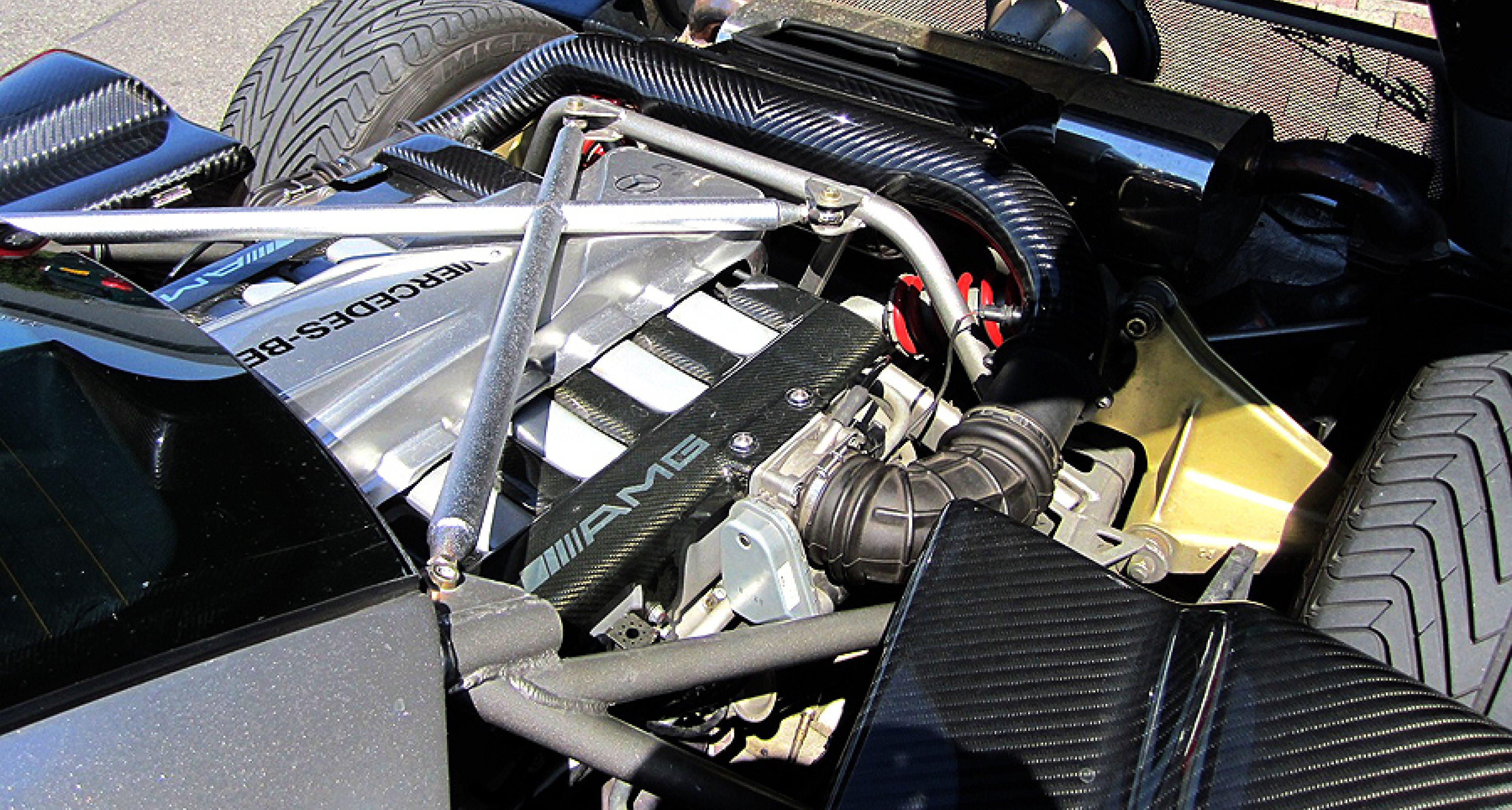Pagani Zonda: AMG Undercover | Clic Driver Magazine