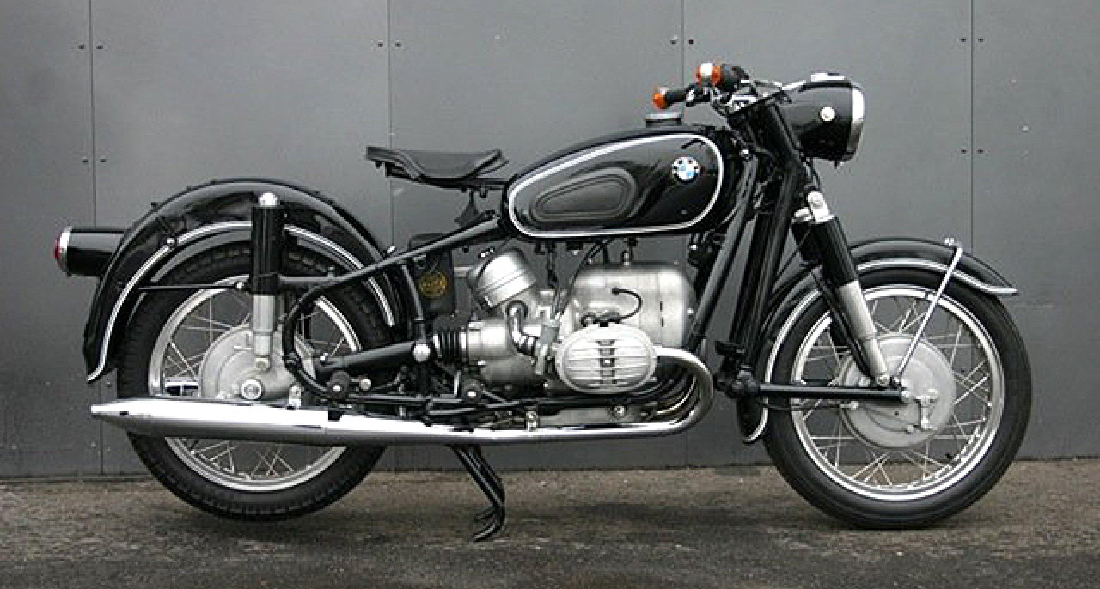 BMW's 1960s R50/2 – More 'Muni...