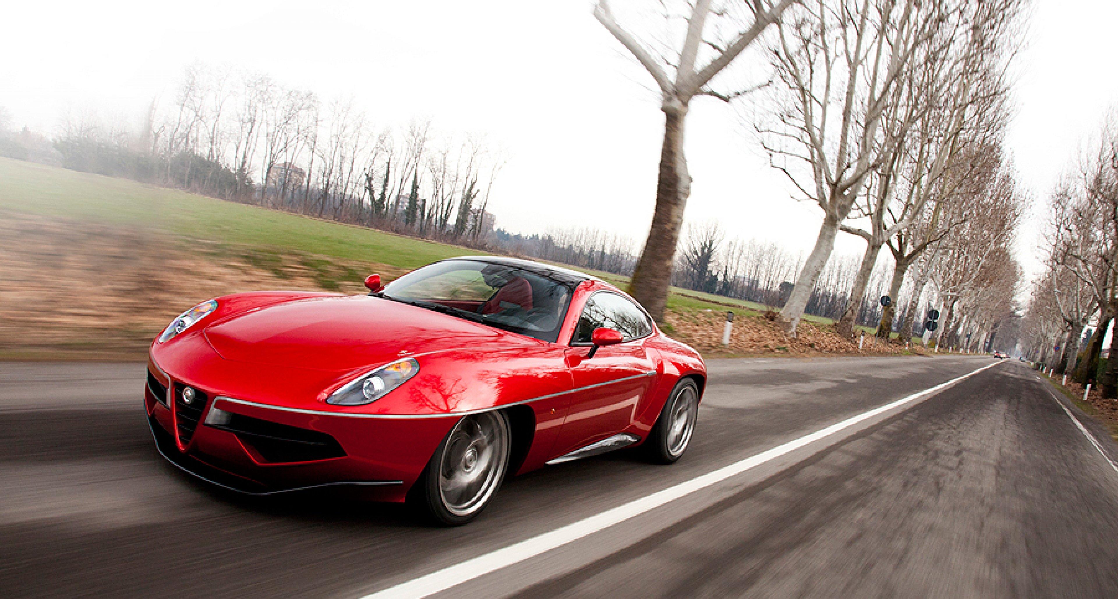 Alfa Romeo Disco Volante >> Driving The New Carrozzeria Touring Disco Volante Classic