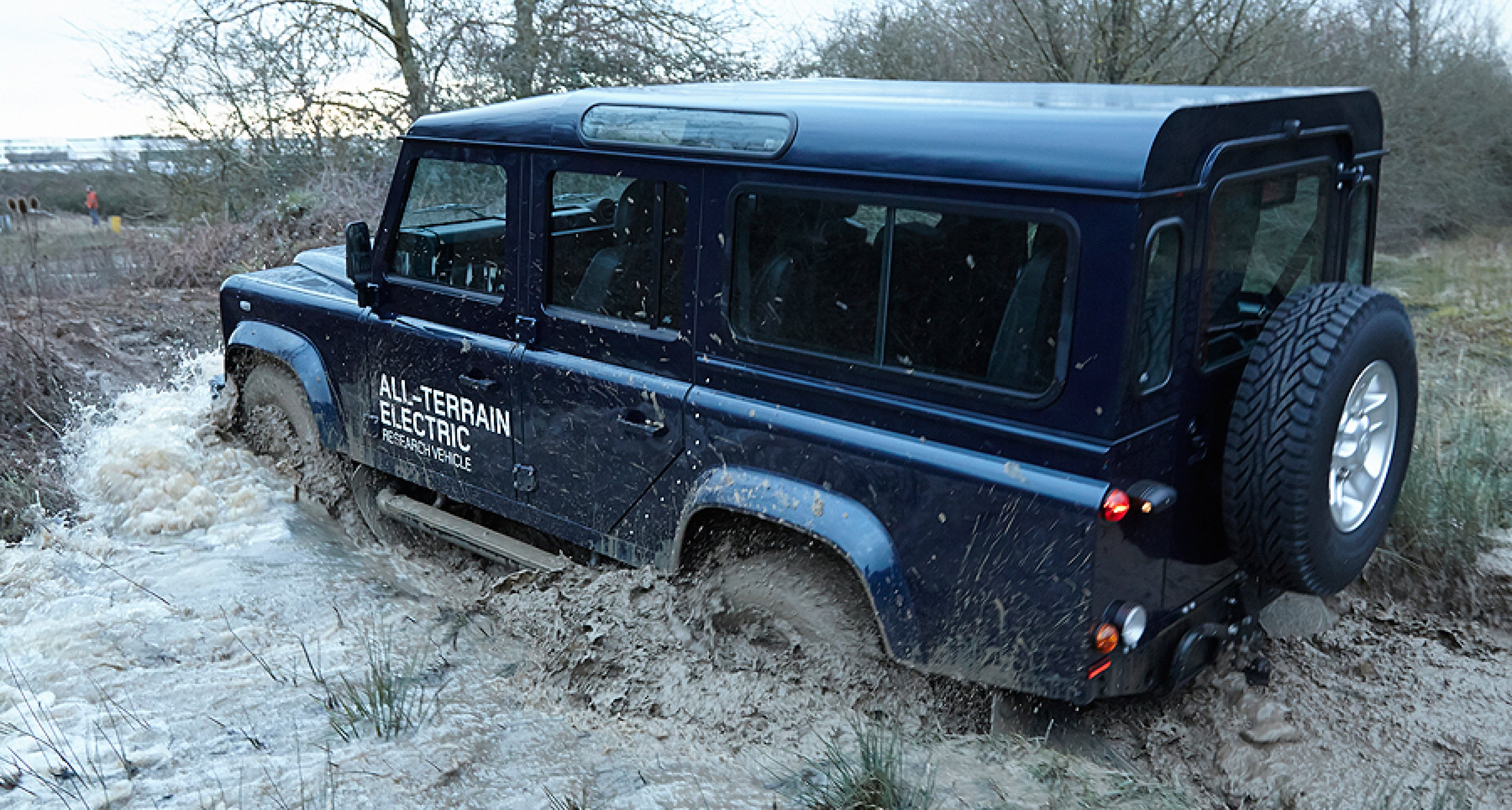 Land Rover Defender Electric The Lion Whisperer Clic Driver Magazine