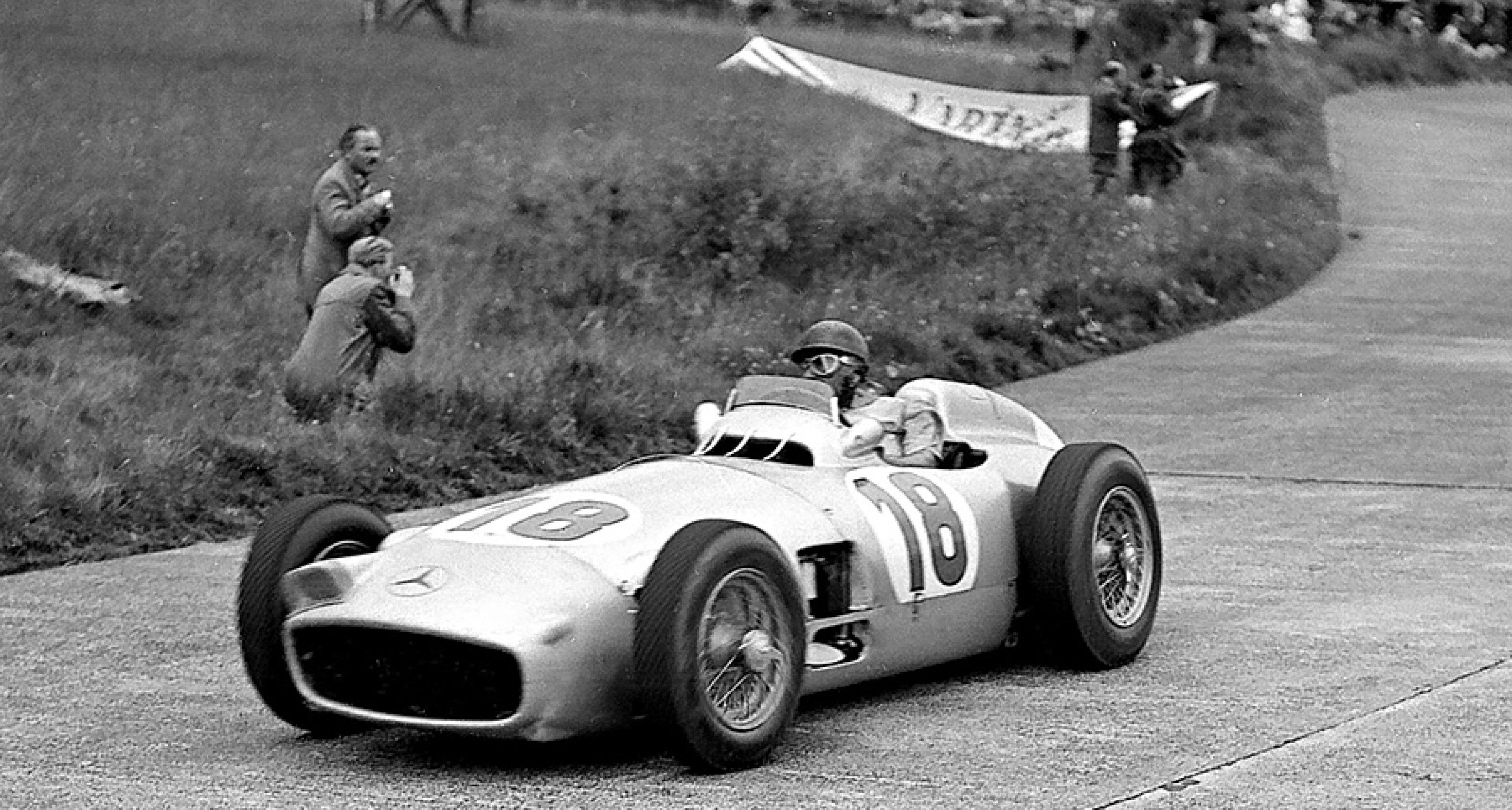 Mercedes grand prix car