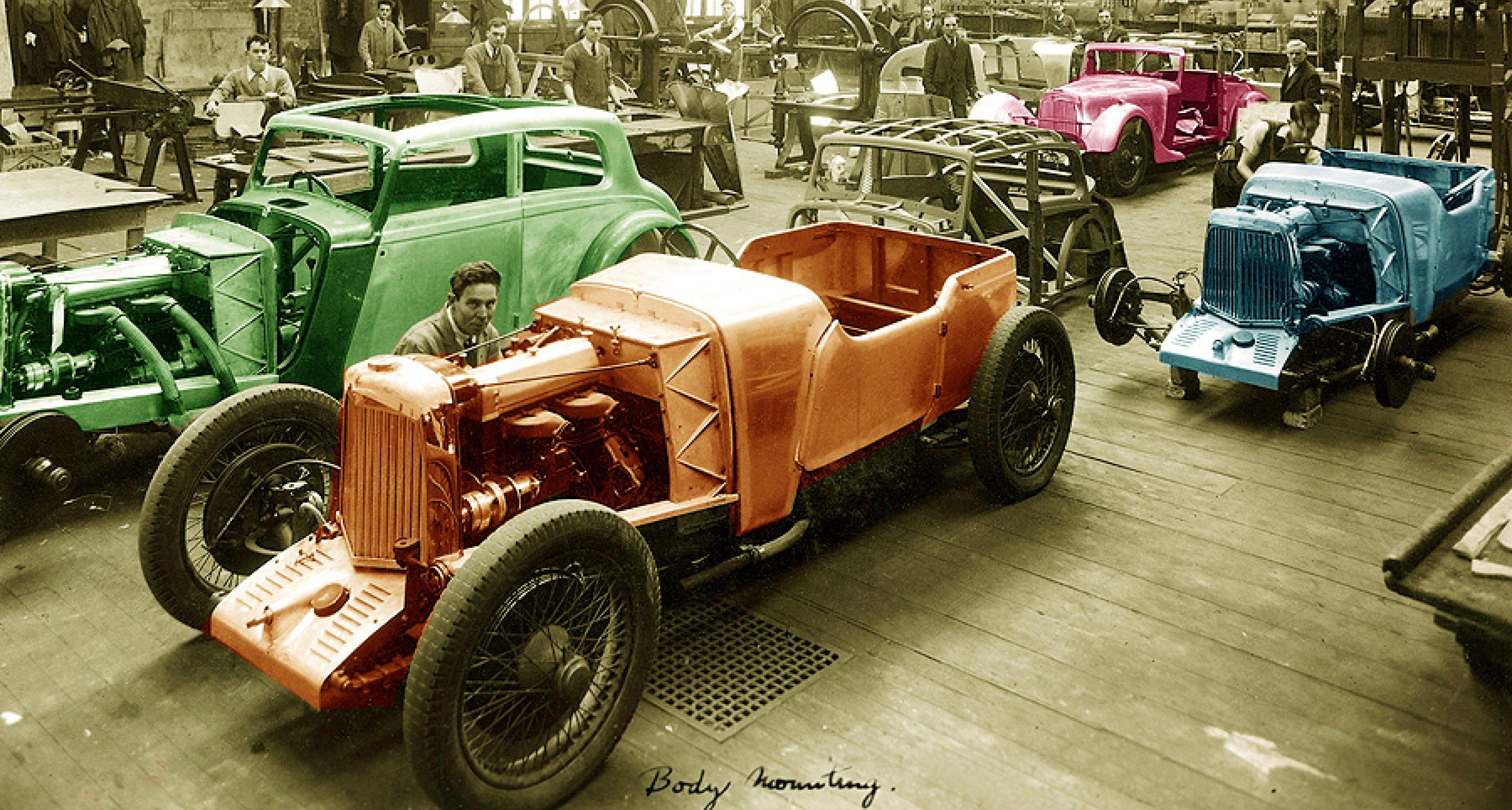 Aston Martins Pre War Years Insights Into An Almost Forgotten Era