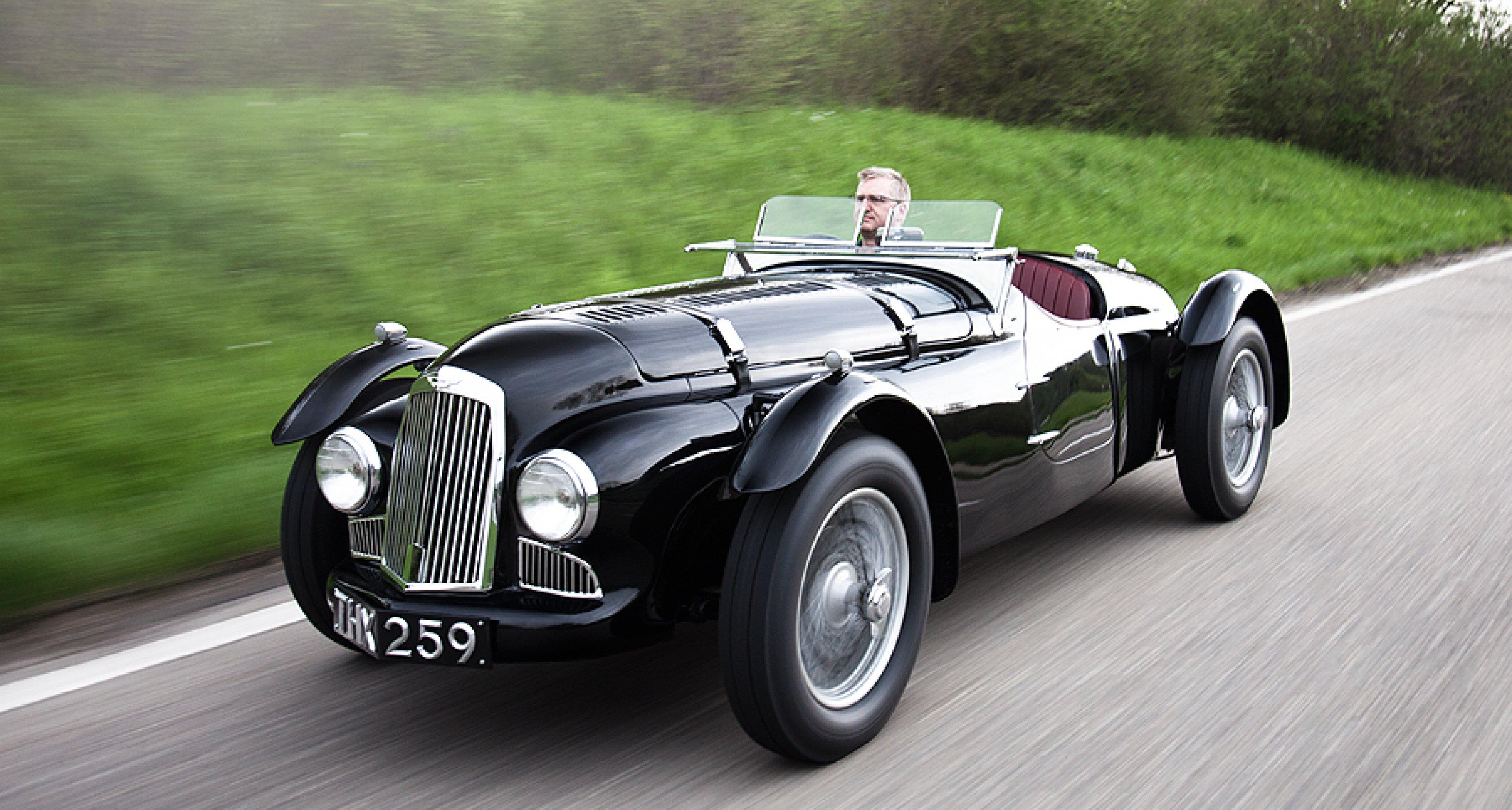 Aston Martin Spa Replica The First Post War Aston Classic
