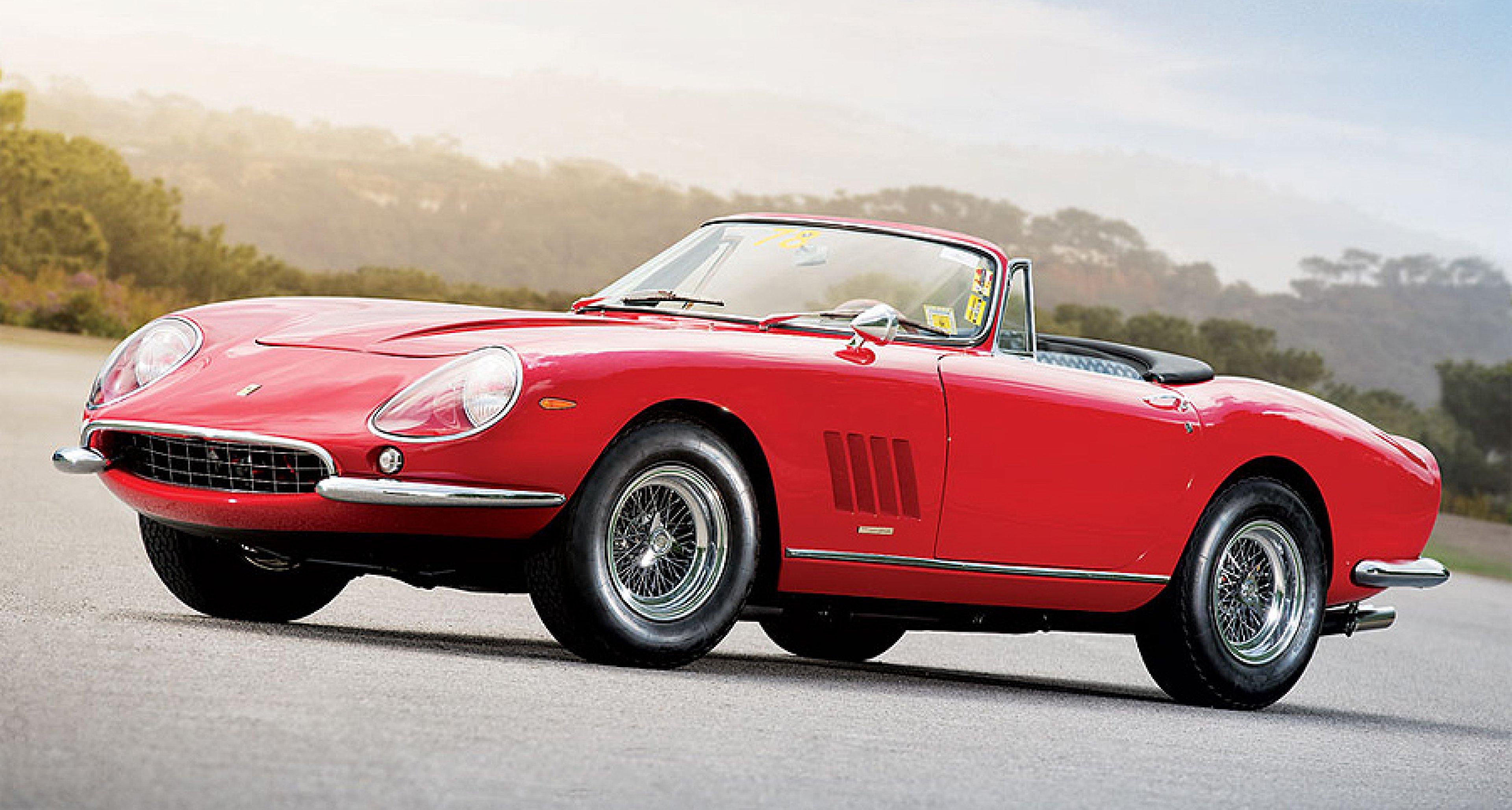 Rare Opportunity Single Owner Ferrari 275 Gtb 4 Nart Spyder At Rm S Monterey Sale Classic Driver Magazine