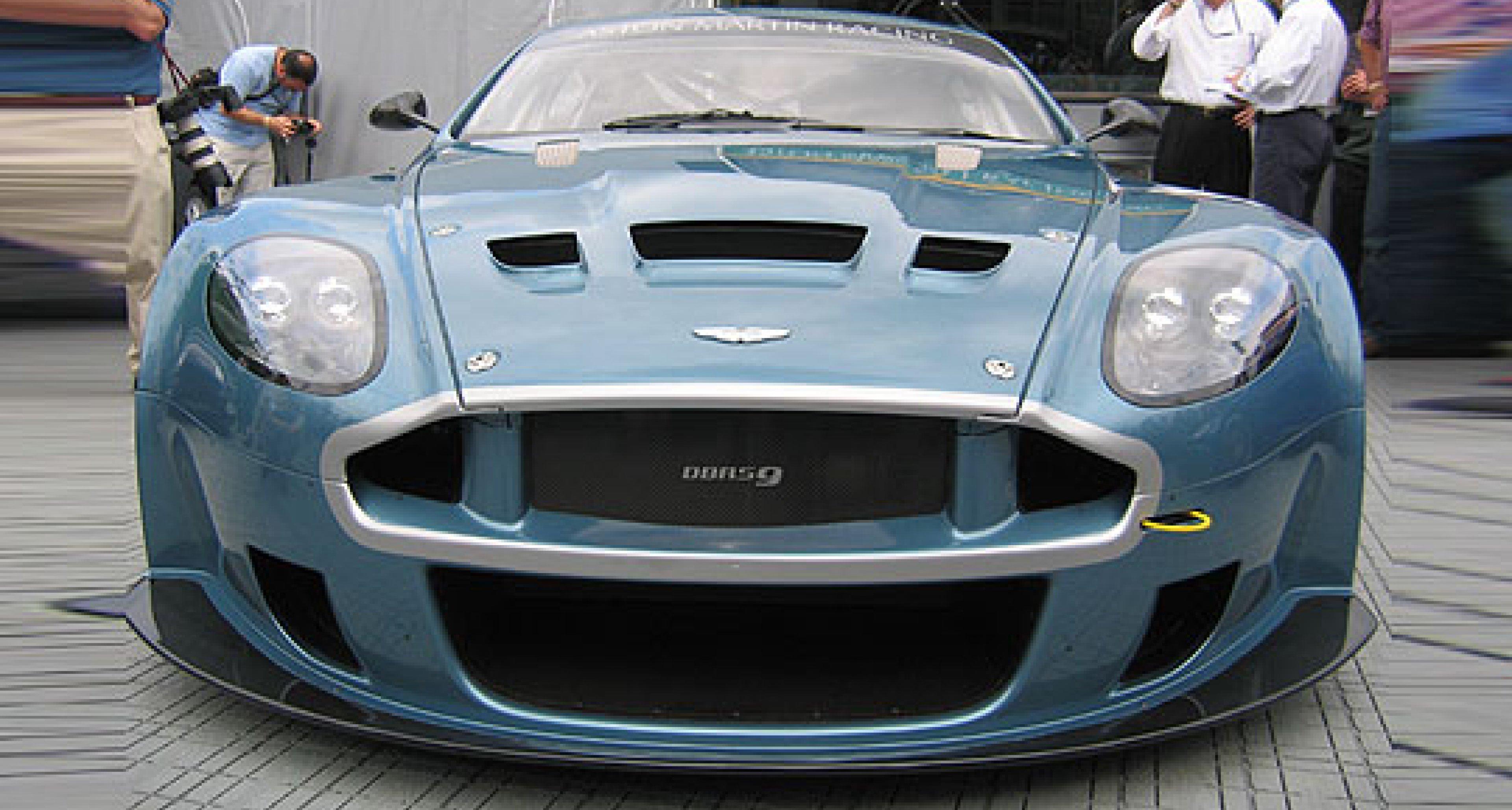 Aston Martin Racing launches new GT race car
