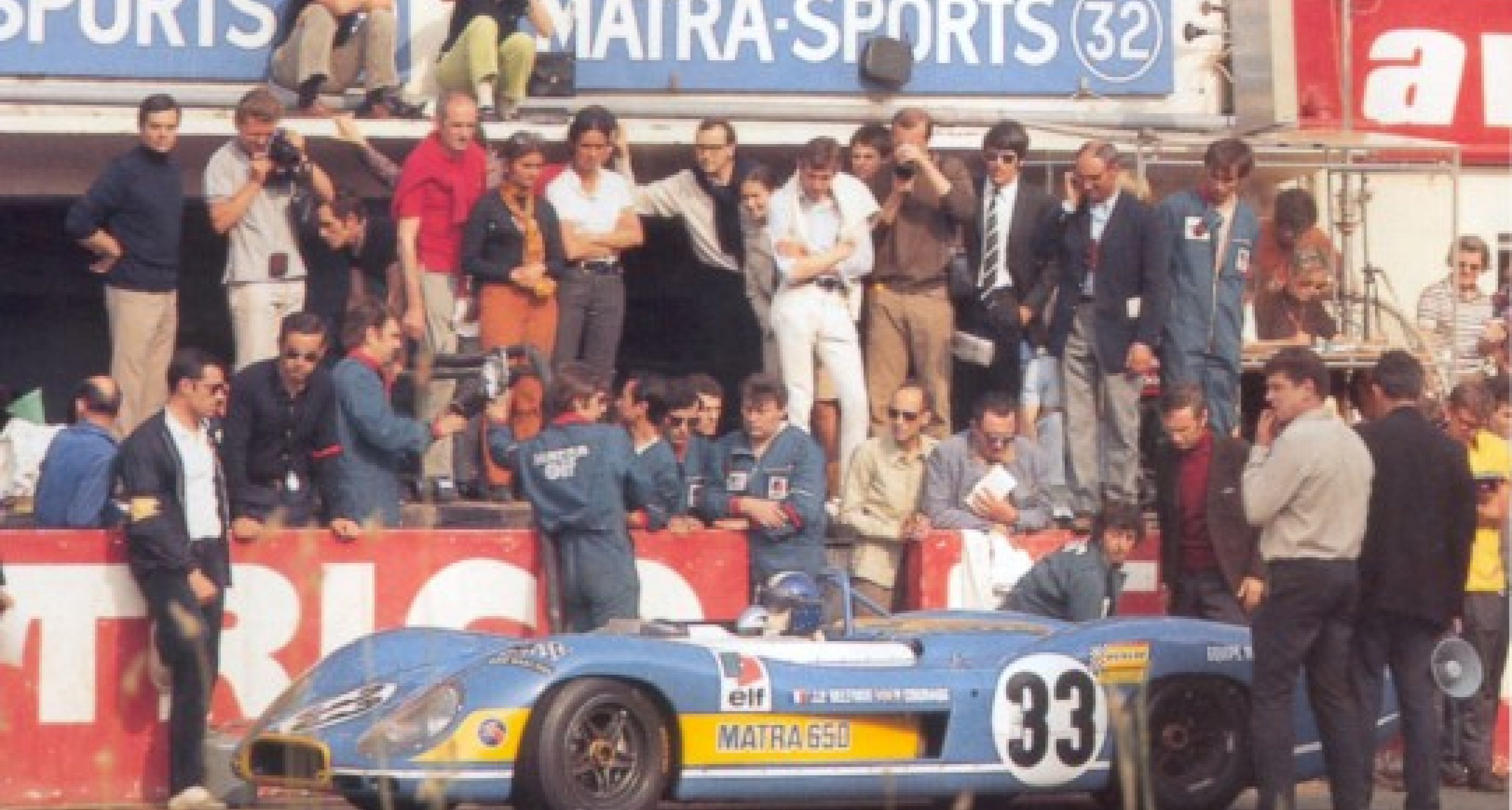 Historic Matra Le Mans Car to be Sold by Artcurial
