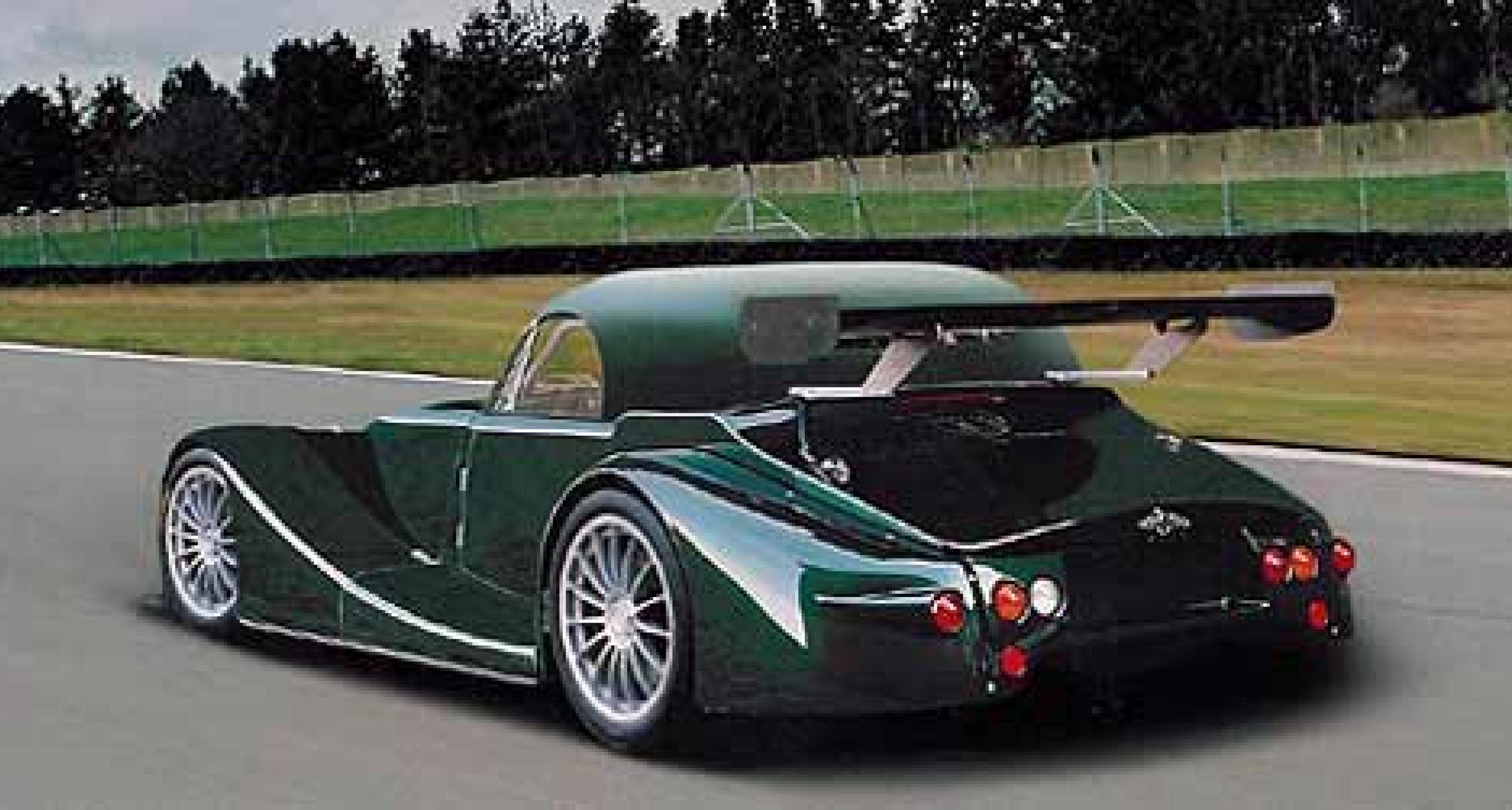 New Morgan race car