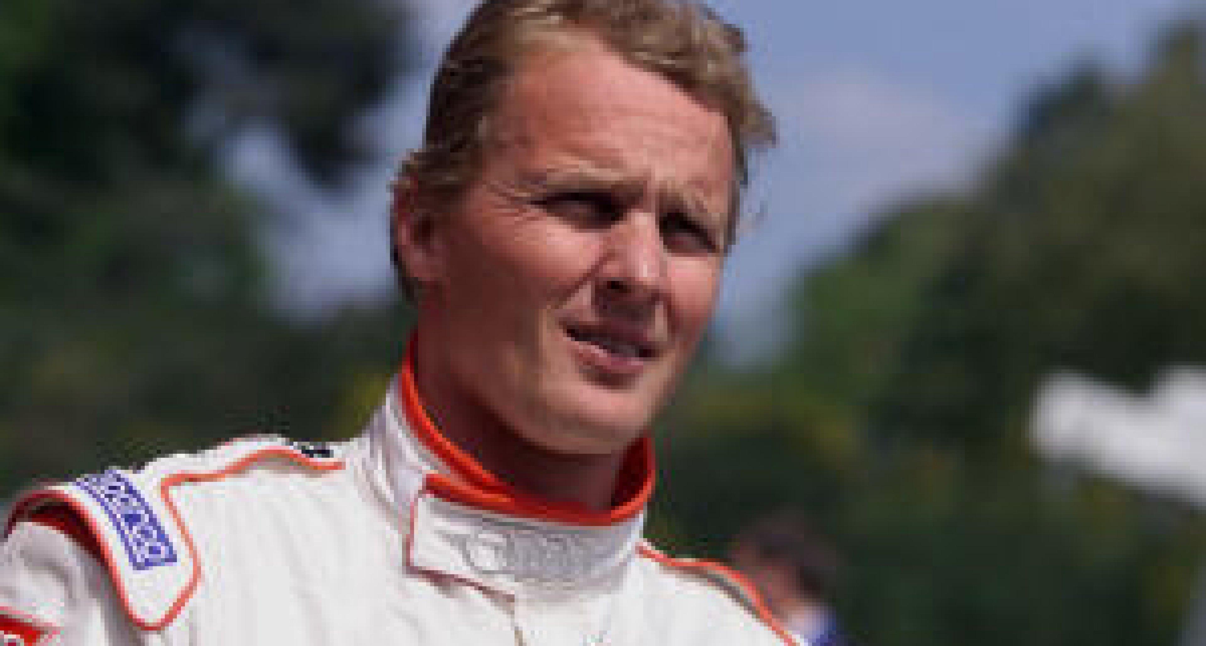 Johnny Herbert drives for Audi 2002