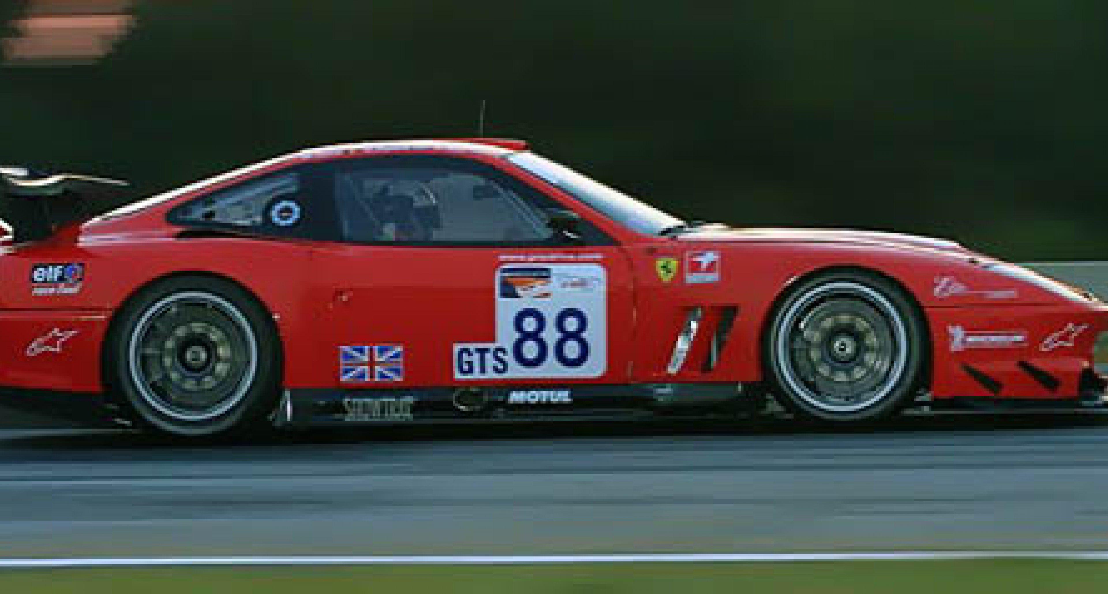 Ferrari returns to Le Mans 2002