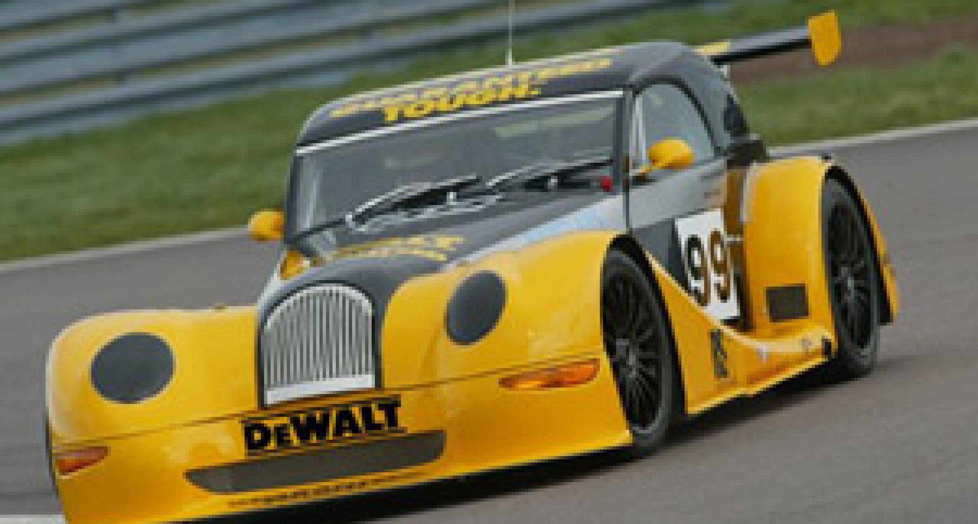 Morgan's Aero 8 GT(N) heads for Le Mans