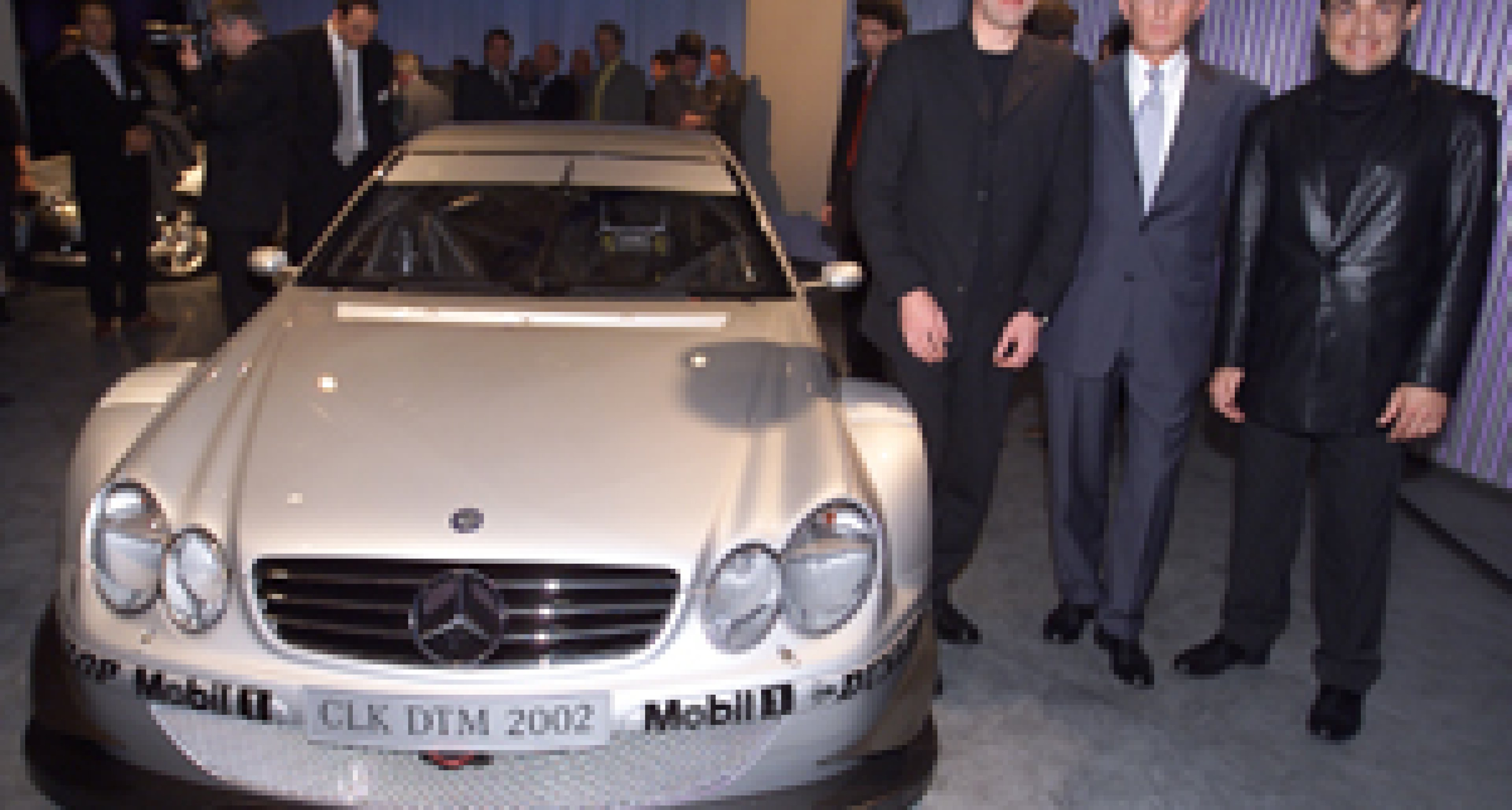 World Premiere of the new AMG Mercedes CLK-DTM