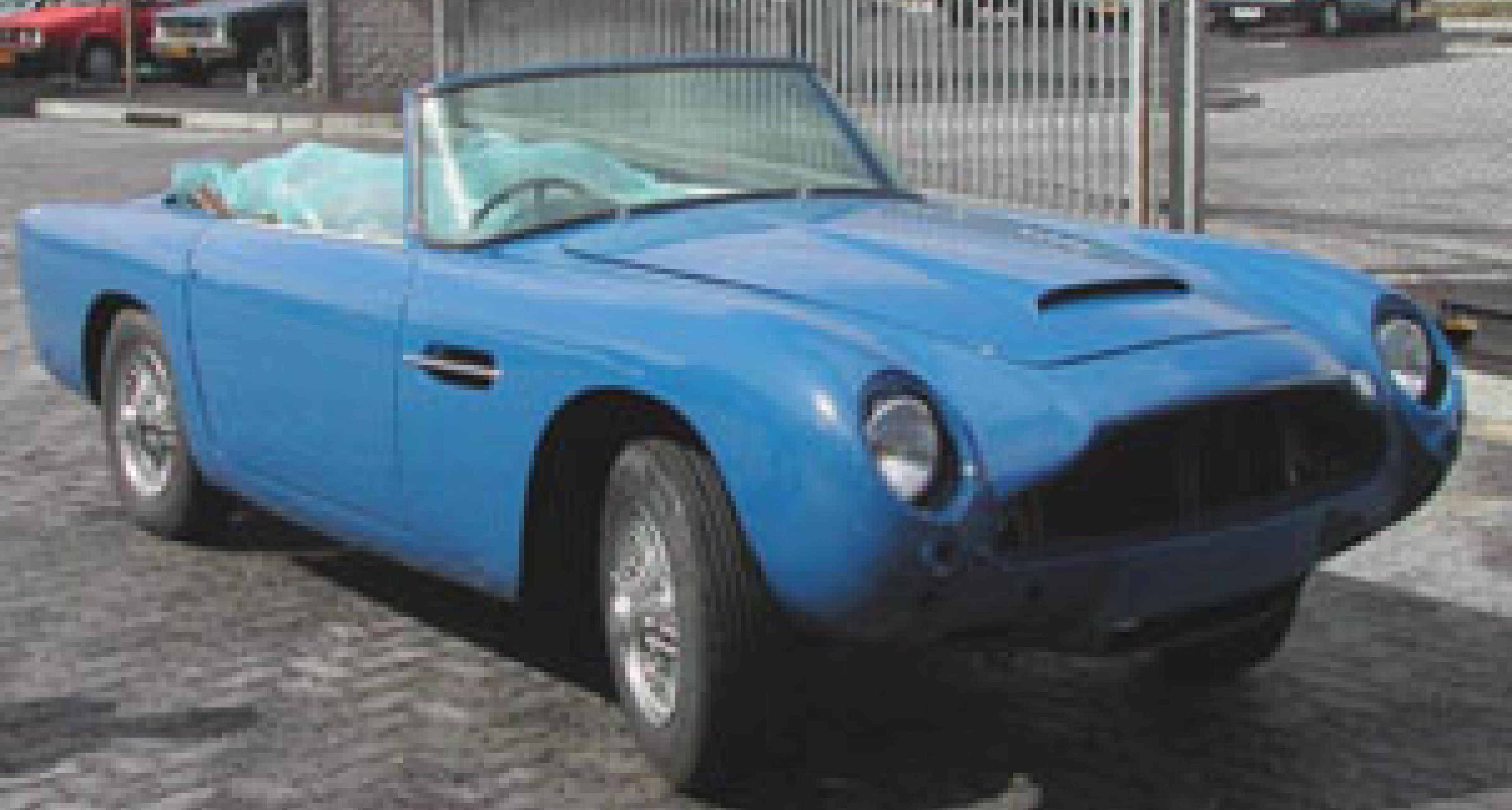 1965 Aston Martin Short Chassis Volante - Brought back to life