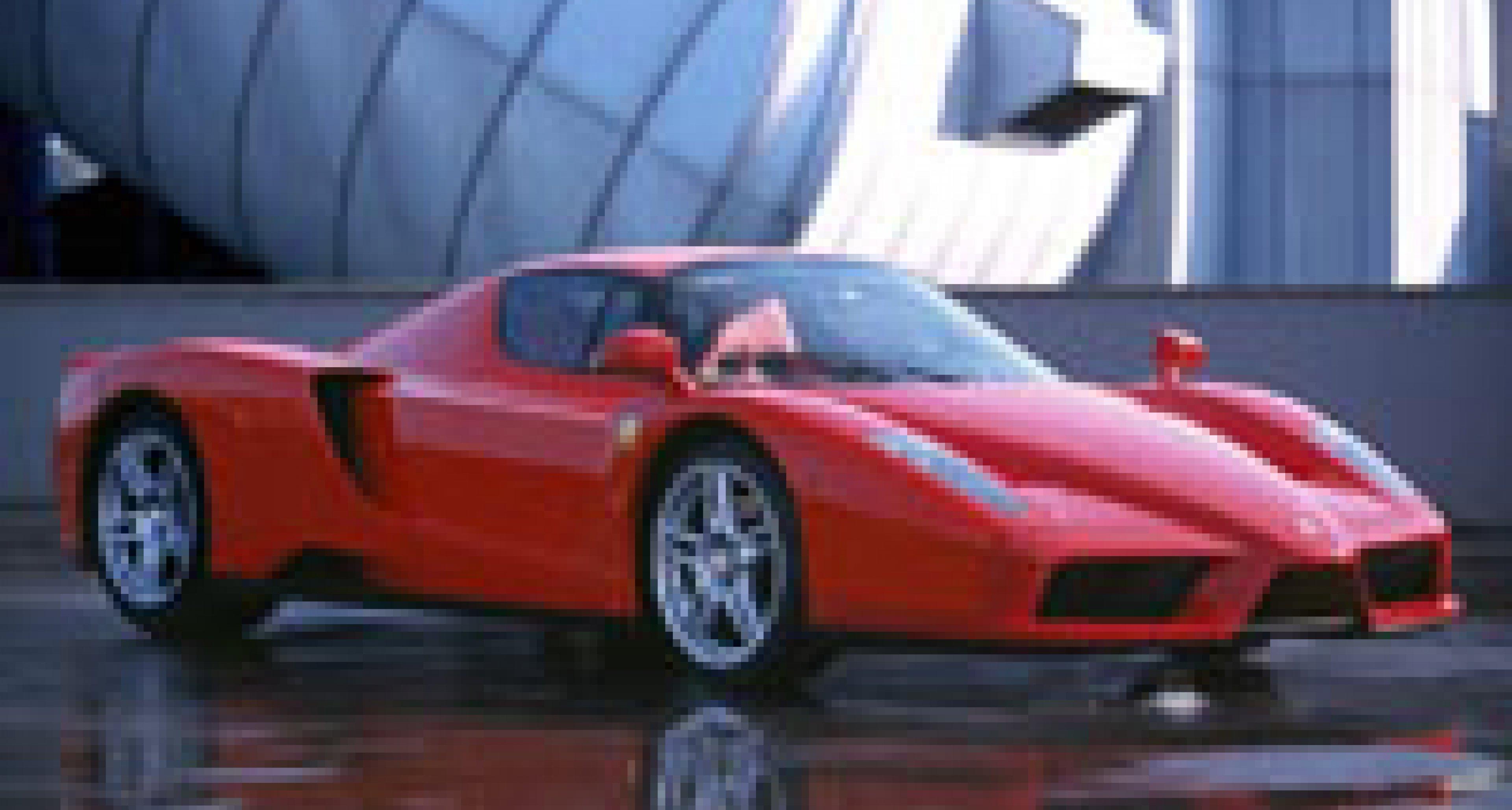 Ferrari and Maserati show new designs in Tokyo April 2002