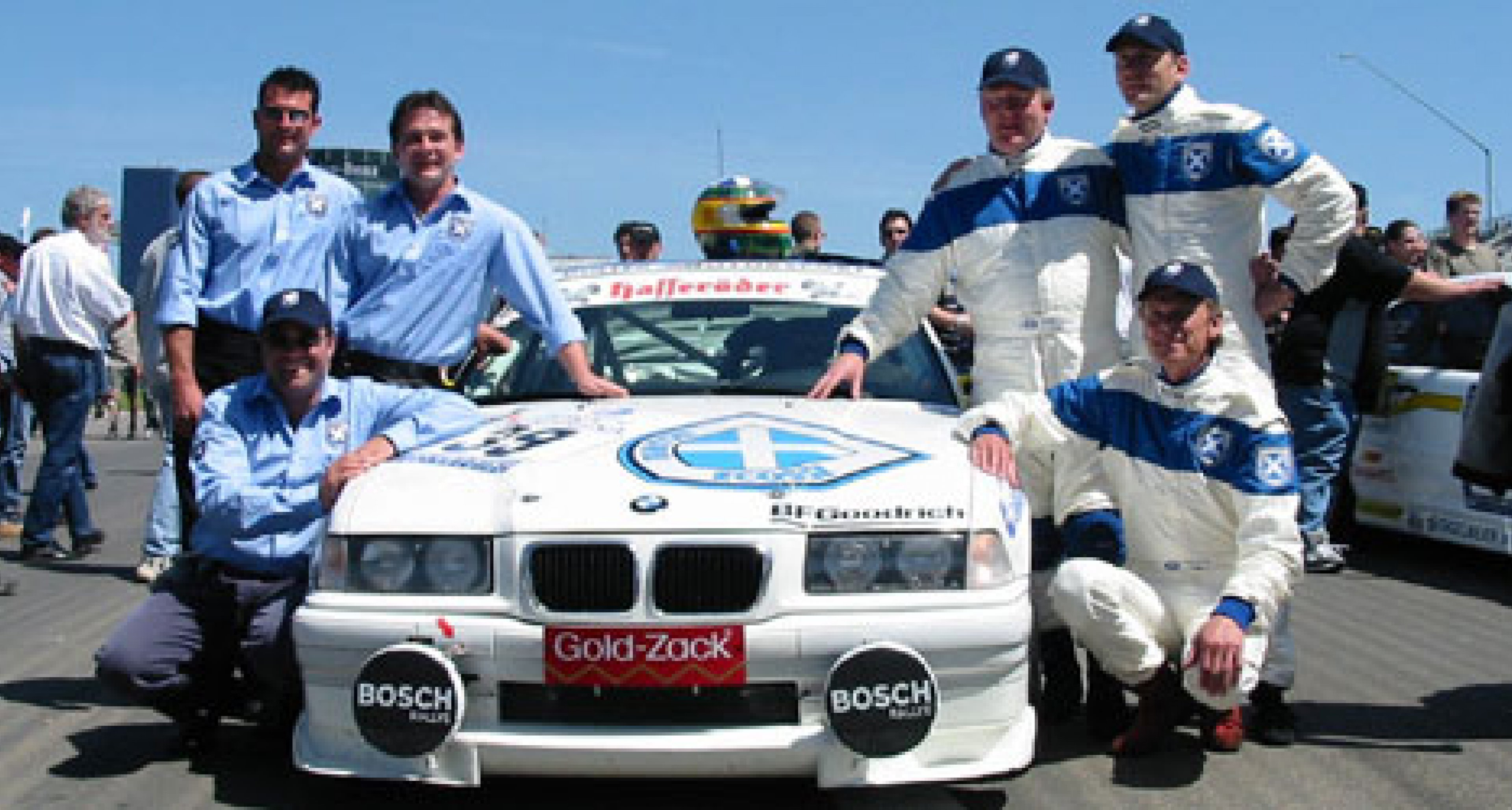 Ecurie Ecosse at the Nurburgring 24 Hours 2002