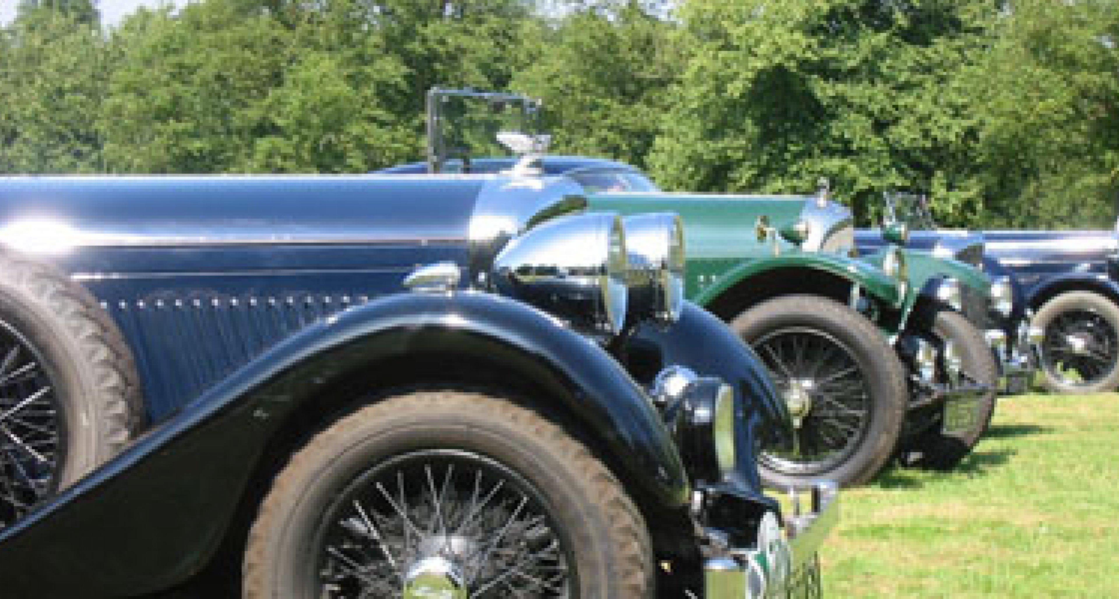 Bentley Drivers Club at Hatfield House