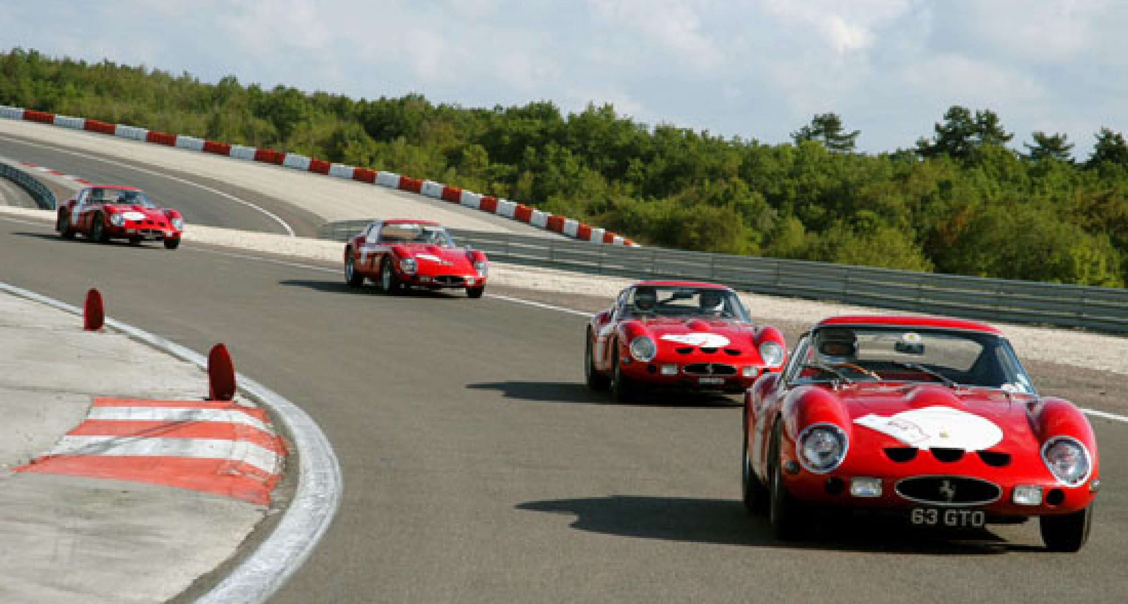 40 Jahre Ferrari 250 GTO: Treffen in Burgund