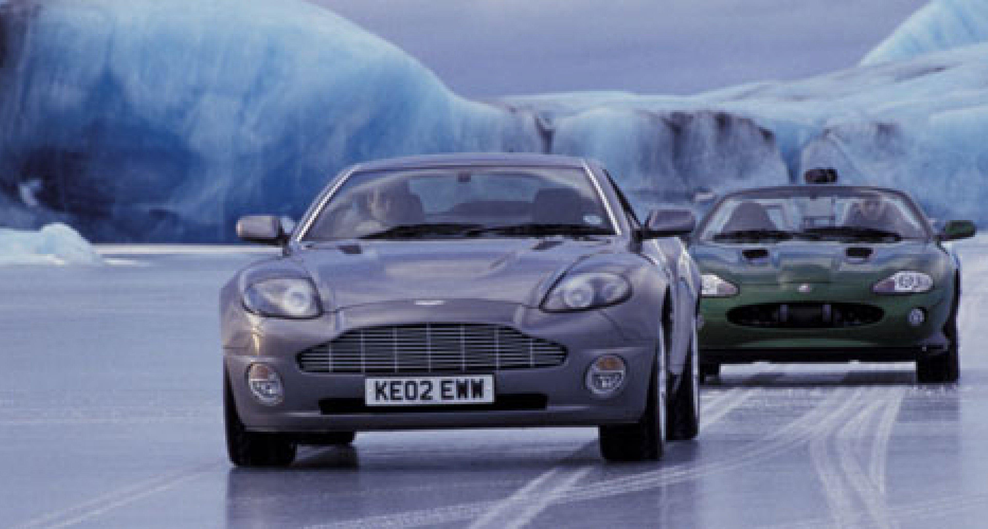 James Bond Cars: Premiere auf der British Motorshow 2002
