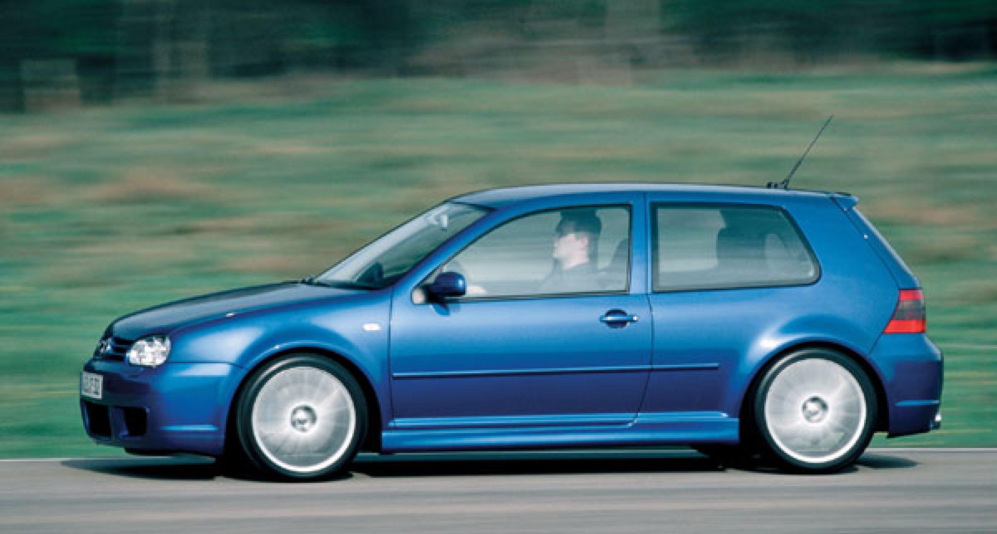 Volkswagen Golf R32: Stärkster Golf aller Zeiten