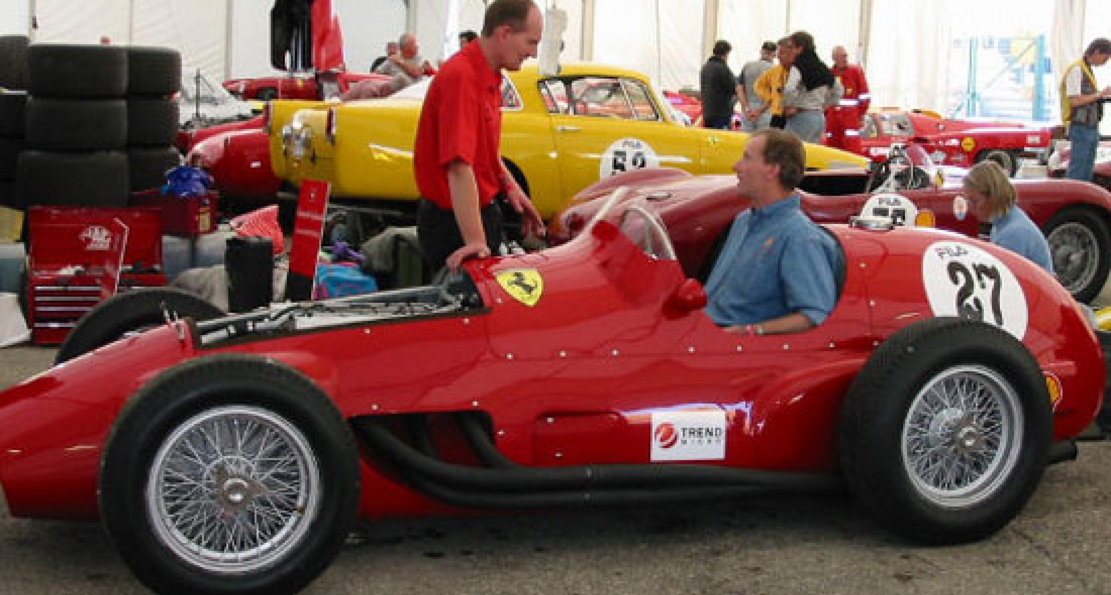 Ferrari at Misano 2002