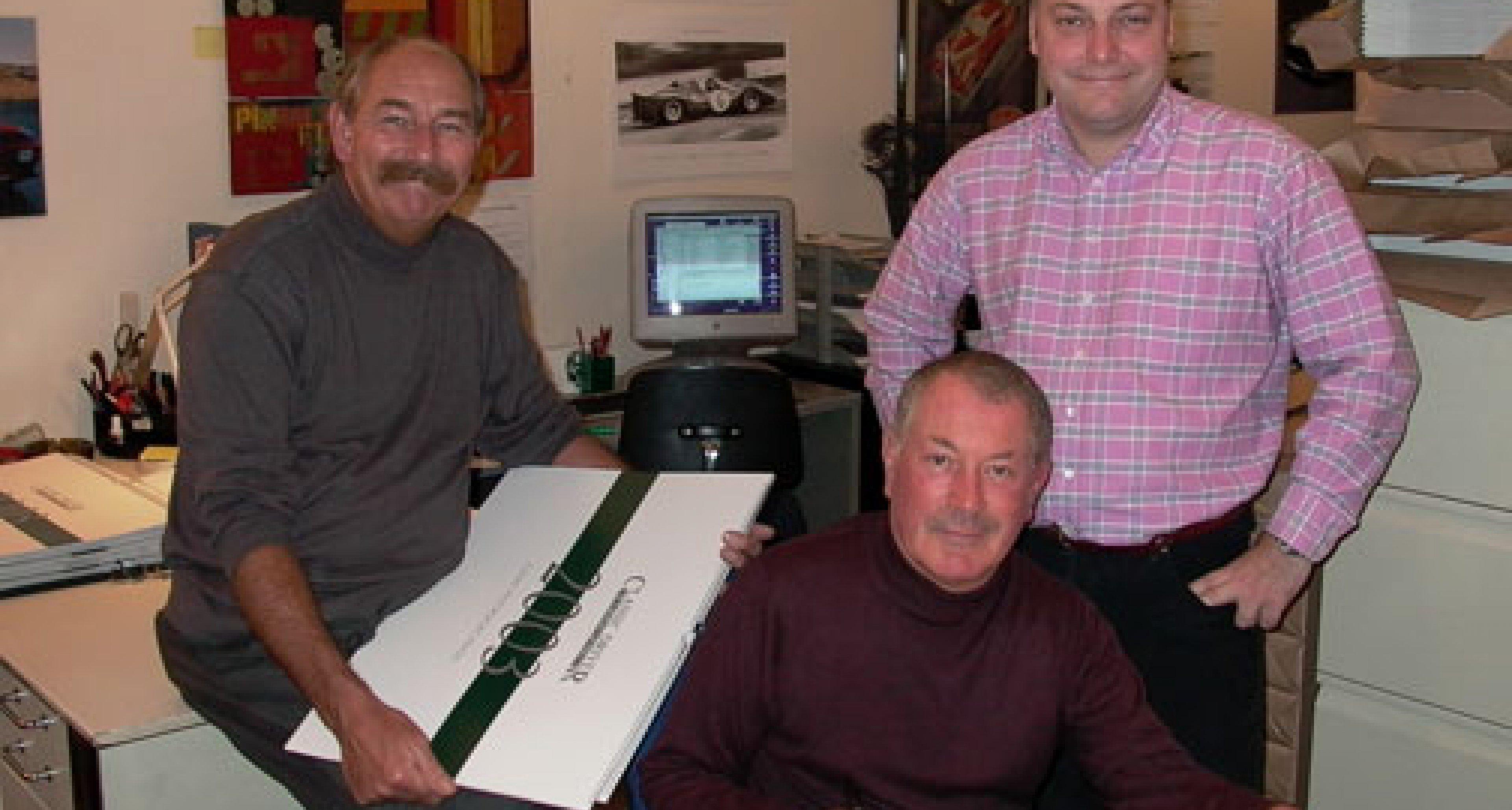 Classic Driver 2003 Calendar Launch at Aston Martin Sales of Mayfair