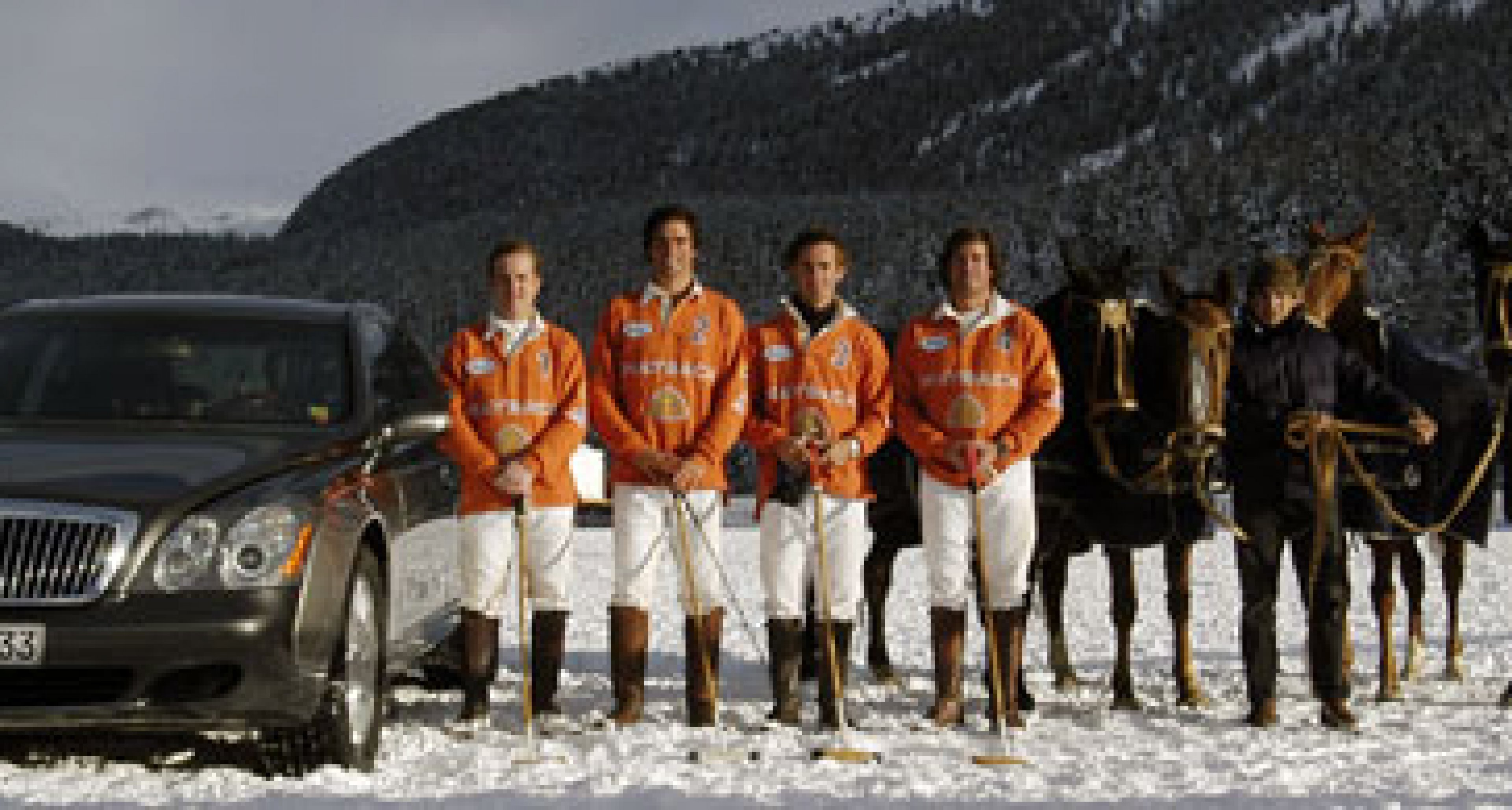 Maybach and the St Moritz Cartier Polo World Cup on Snow 2003