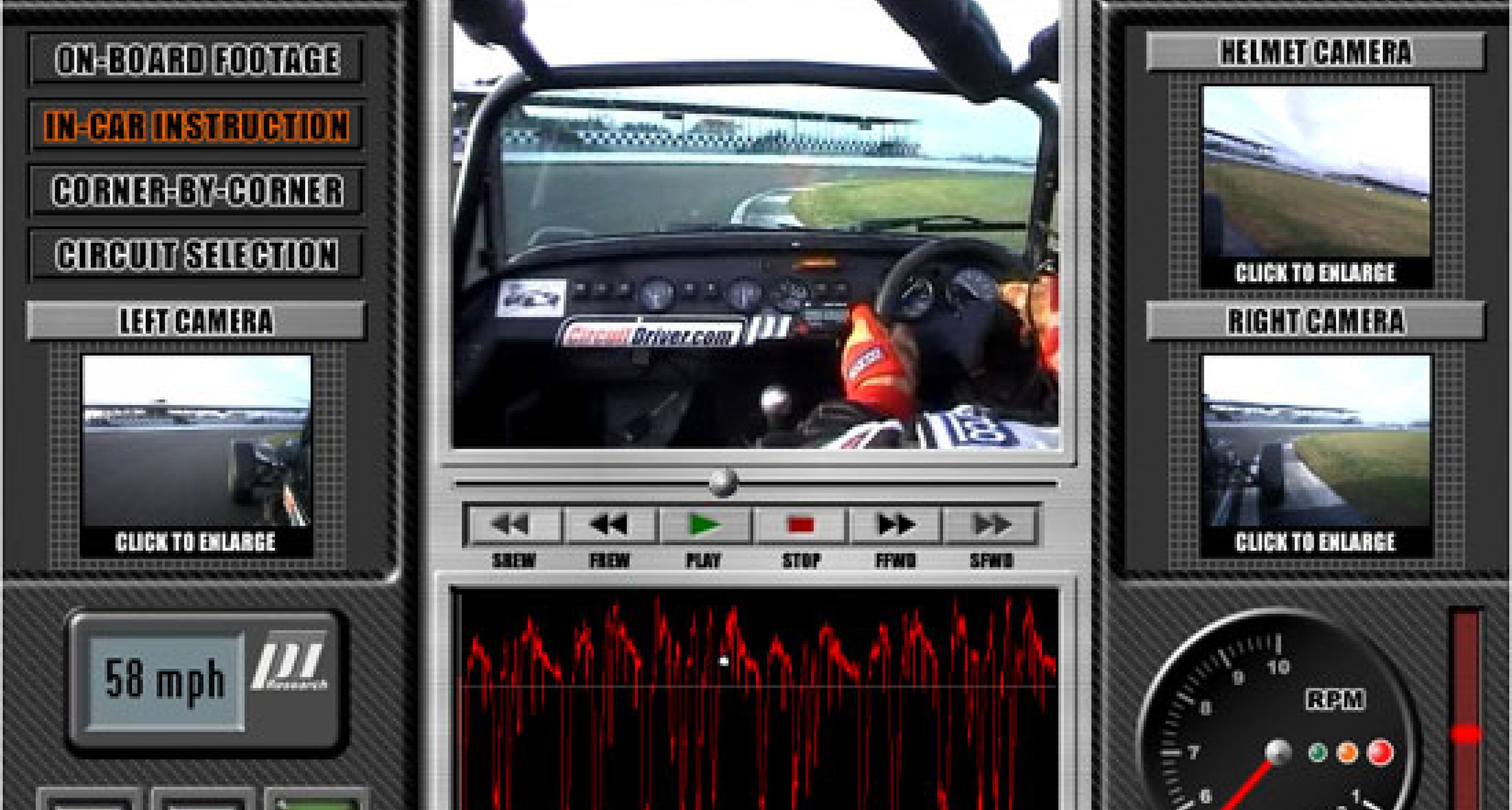 In-car Active circuit driving guide for PC and MAC