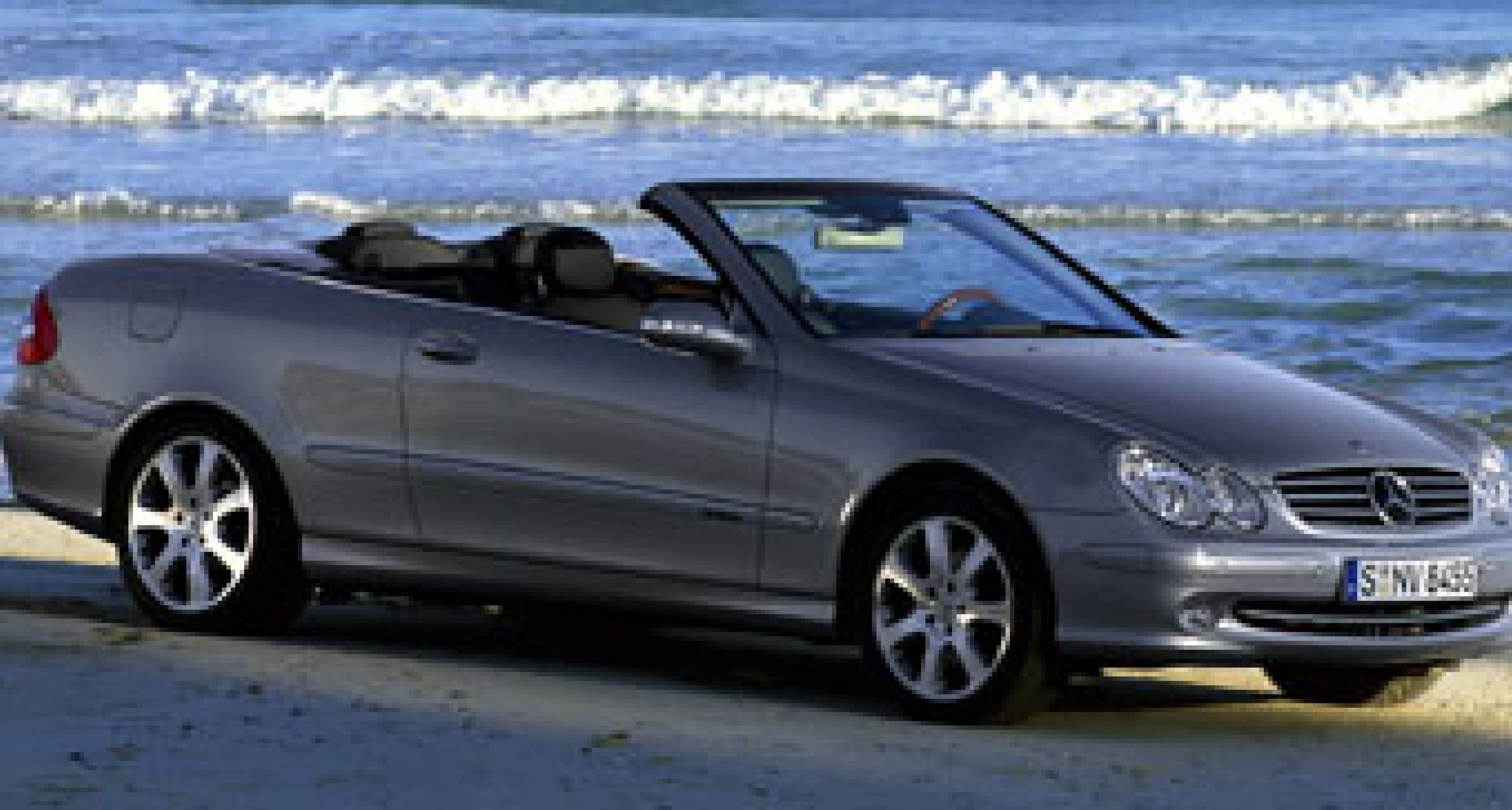 Mercedes  to announce new 2003 CLK Cabriolet at Geneva