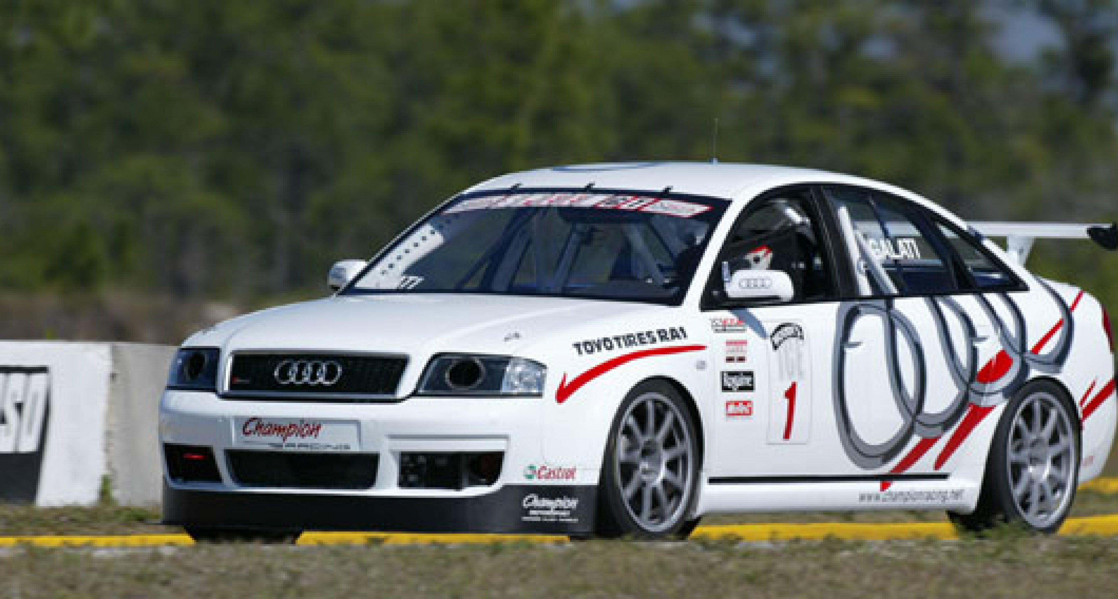 Motorsport debut for the Audi RS6